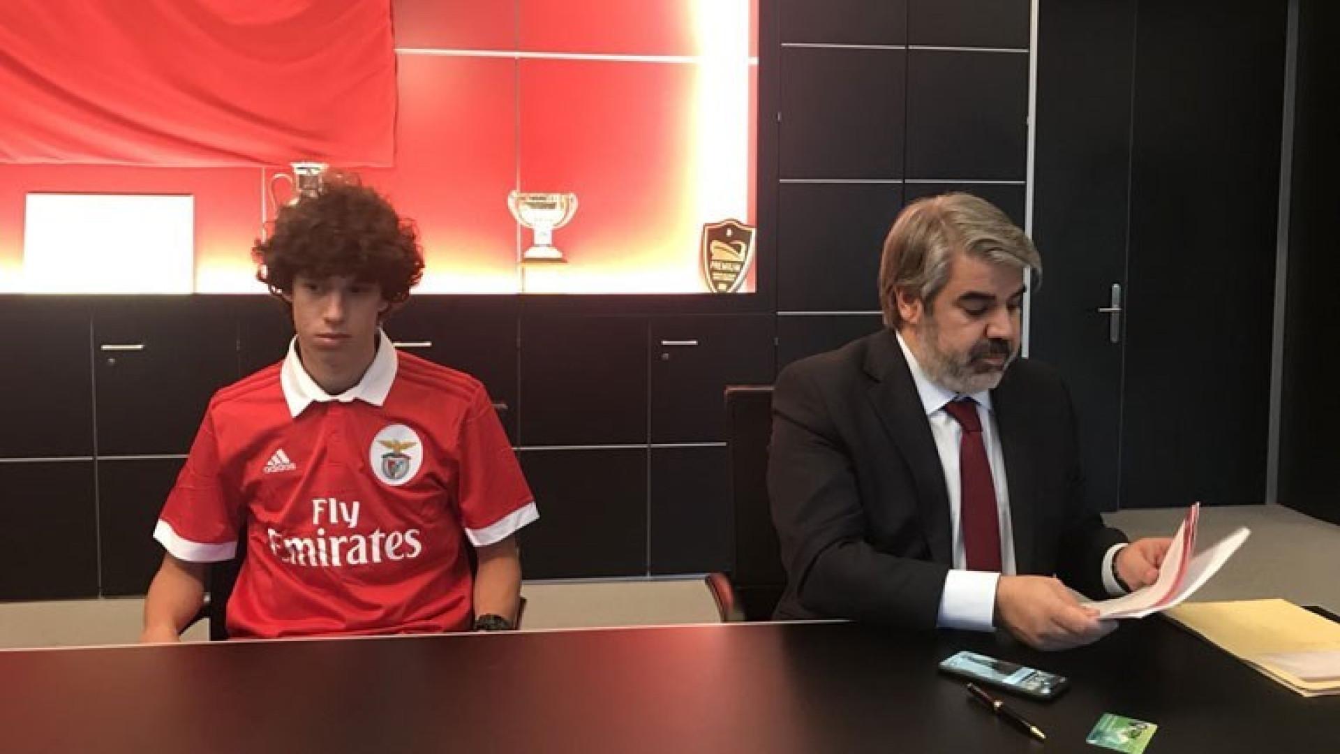Benfica garante a contratação de jovem montenegrino