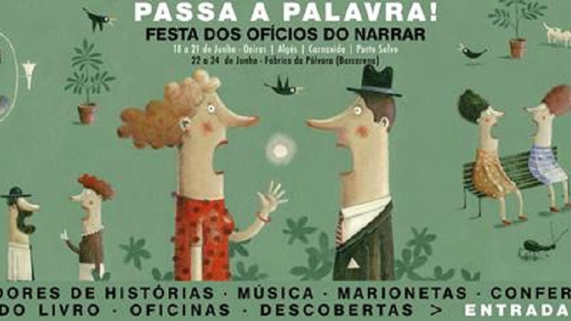'Passa Palavra!': Festival literário em Oeiras de 18 a 24 de junho