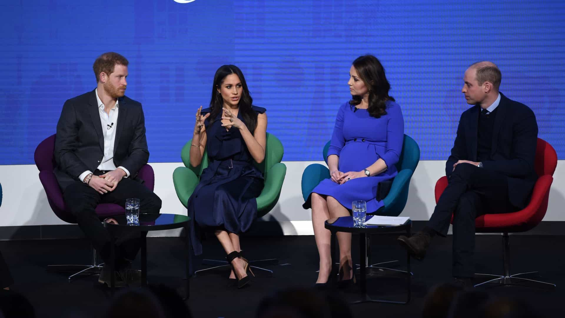 Meghan une-se a William, Harry e Kate e assume cargo na Royal Foundation