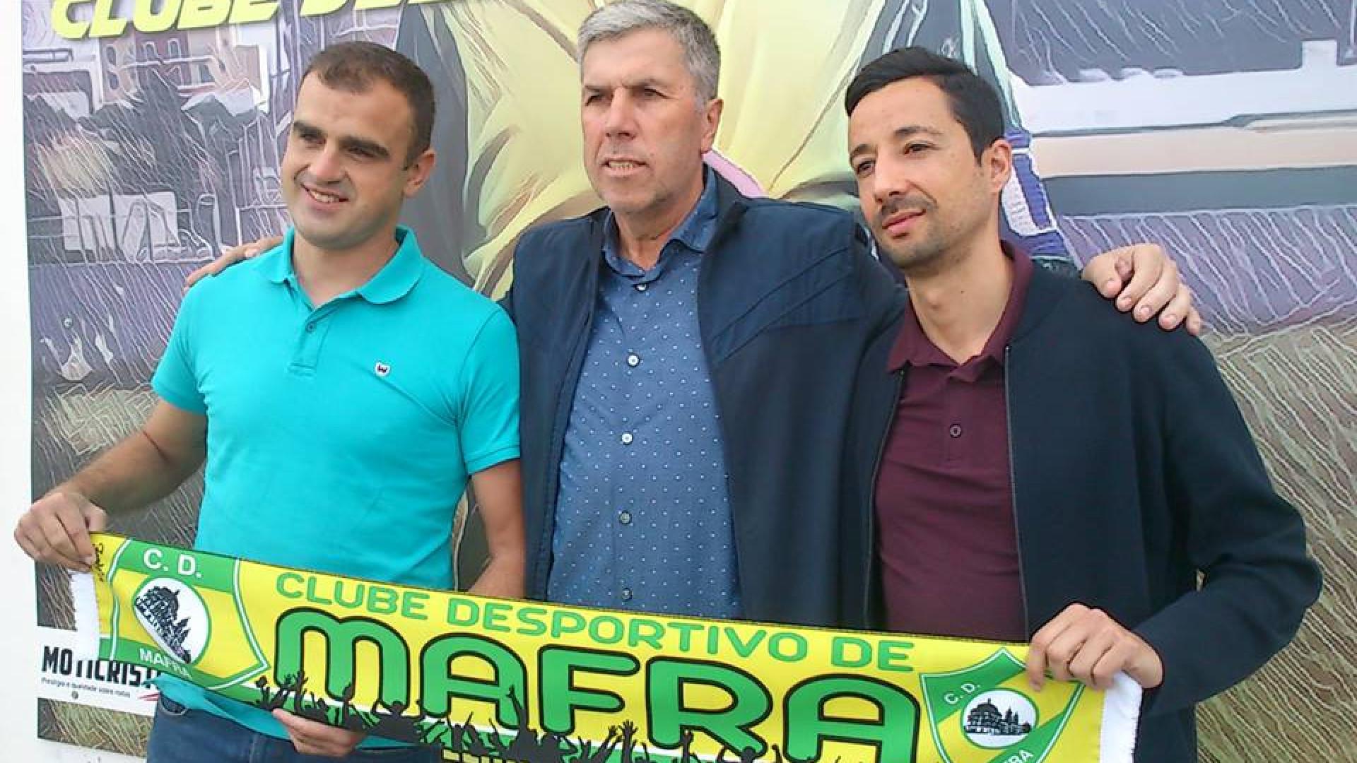 Filipe Martins rende Luís Freire como treinador do Mafra