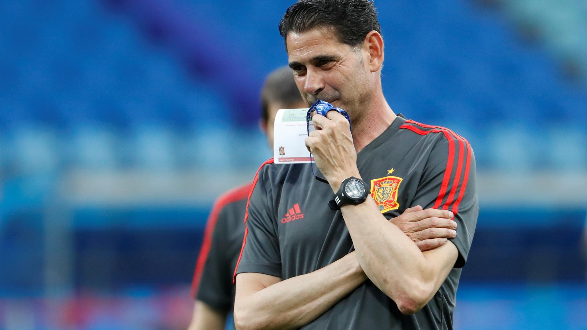 Descuido pode ter revelado os titulares de Espanha frente a Portugal