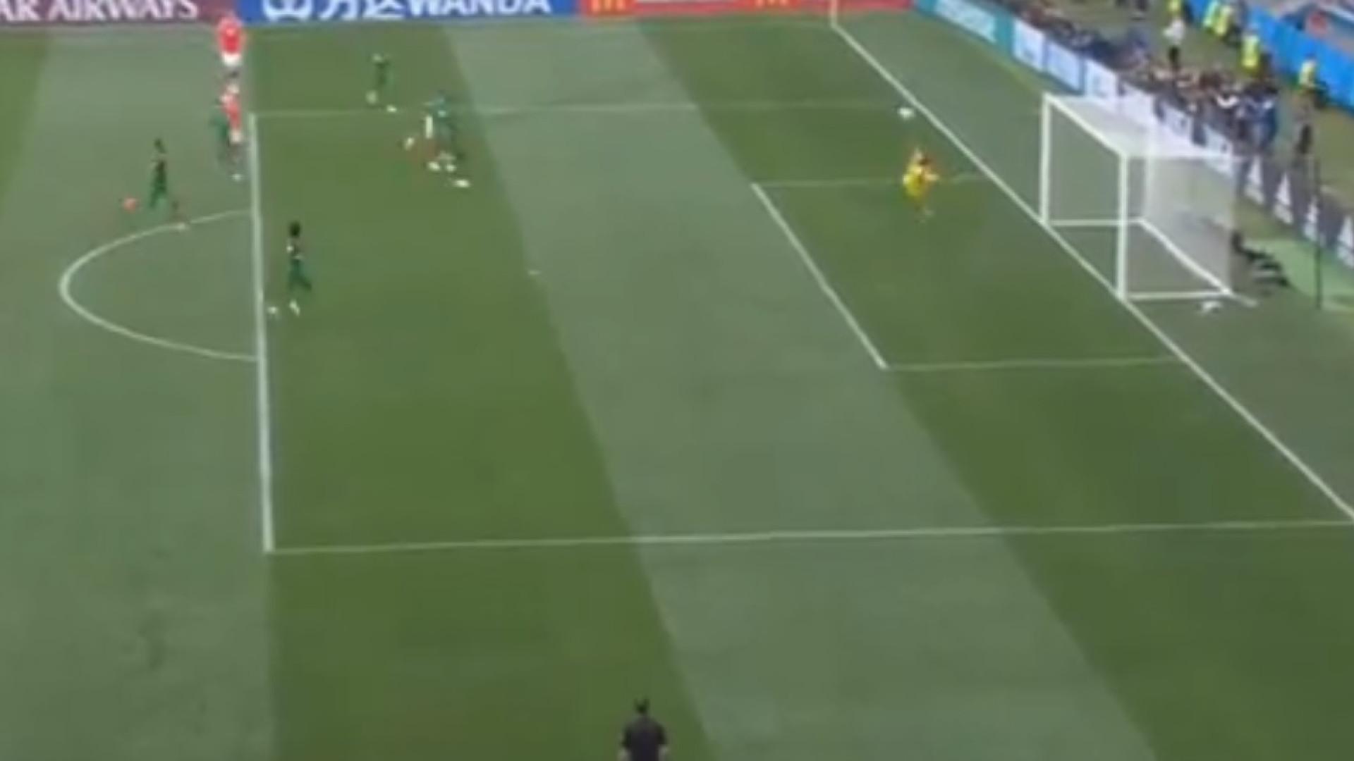 O Mundial ainda agora começou e já há candidato a melhor golo