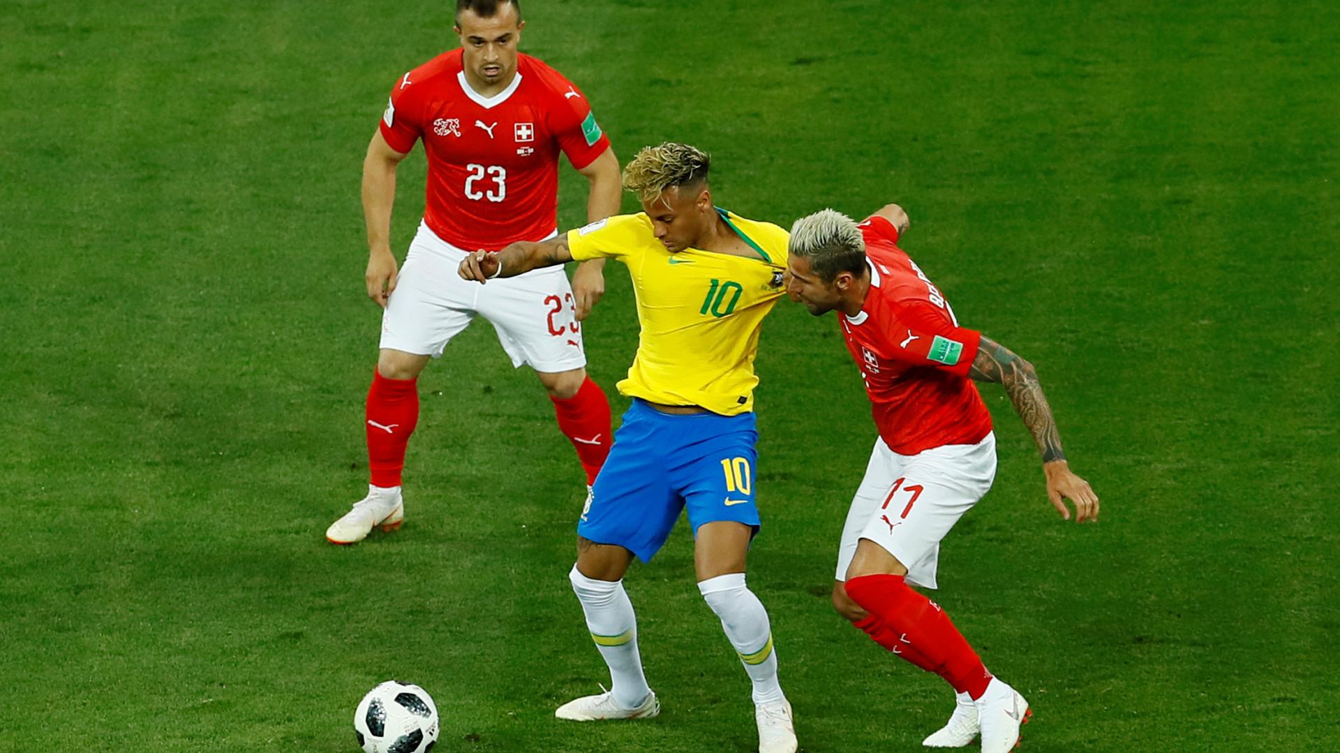 Suíça agarrou (e bem) o Brasil para o empate na estreia no Mundial