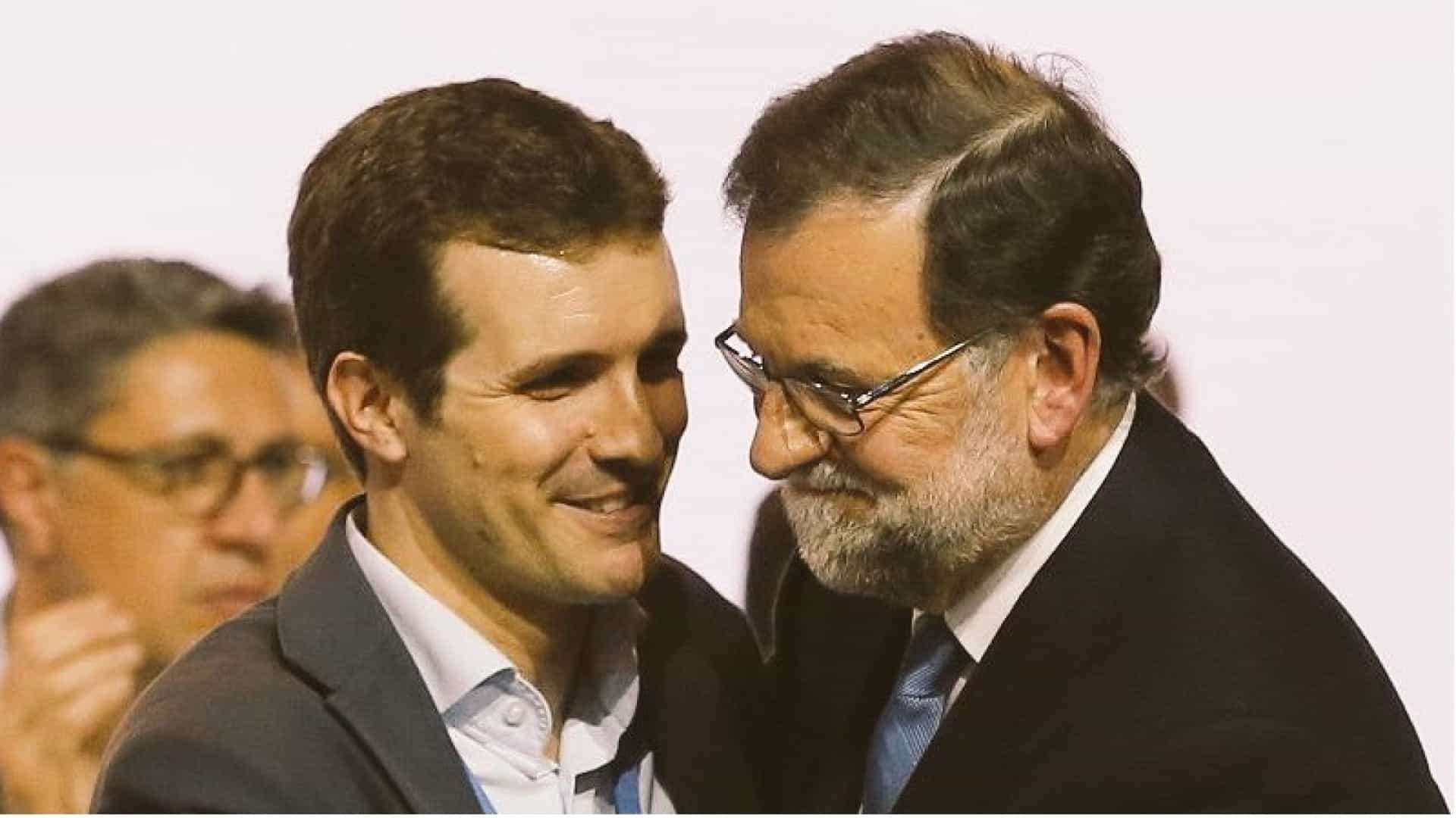 Pablo Casado Branco quer substituir Rajoy na liderança do PP