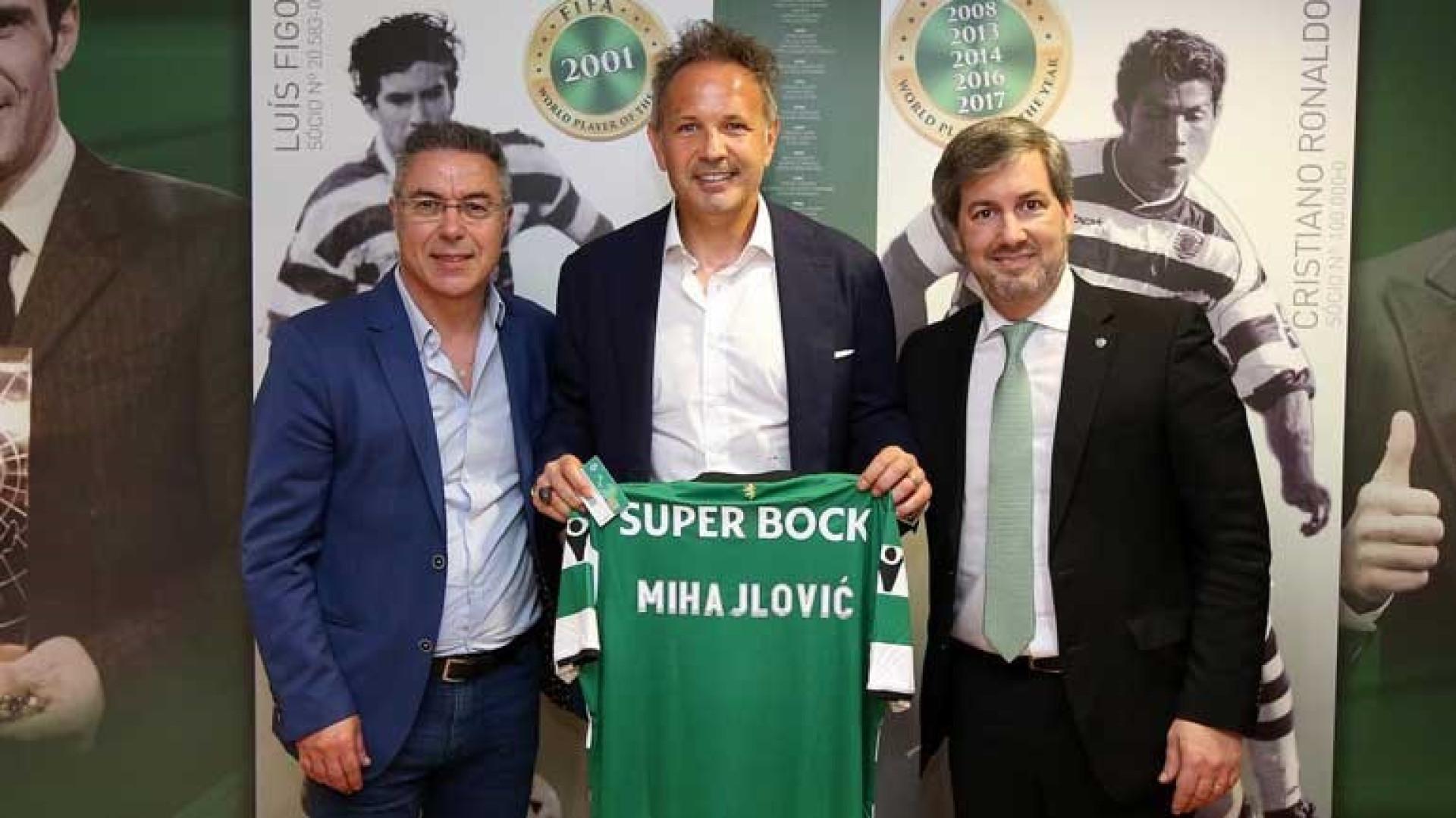 Sinisa Mihajlovic confirmado como treinador do Sporting