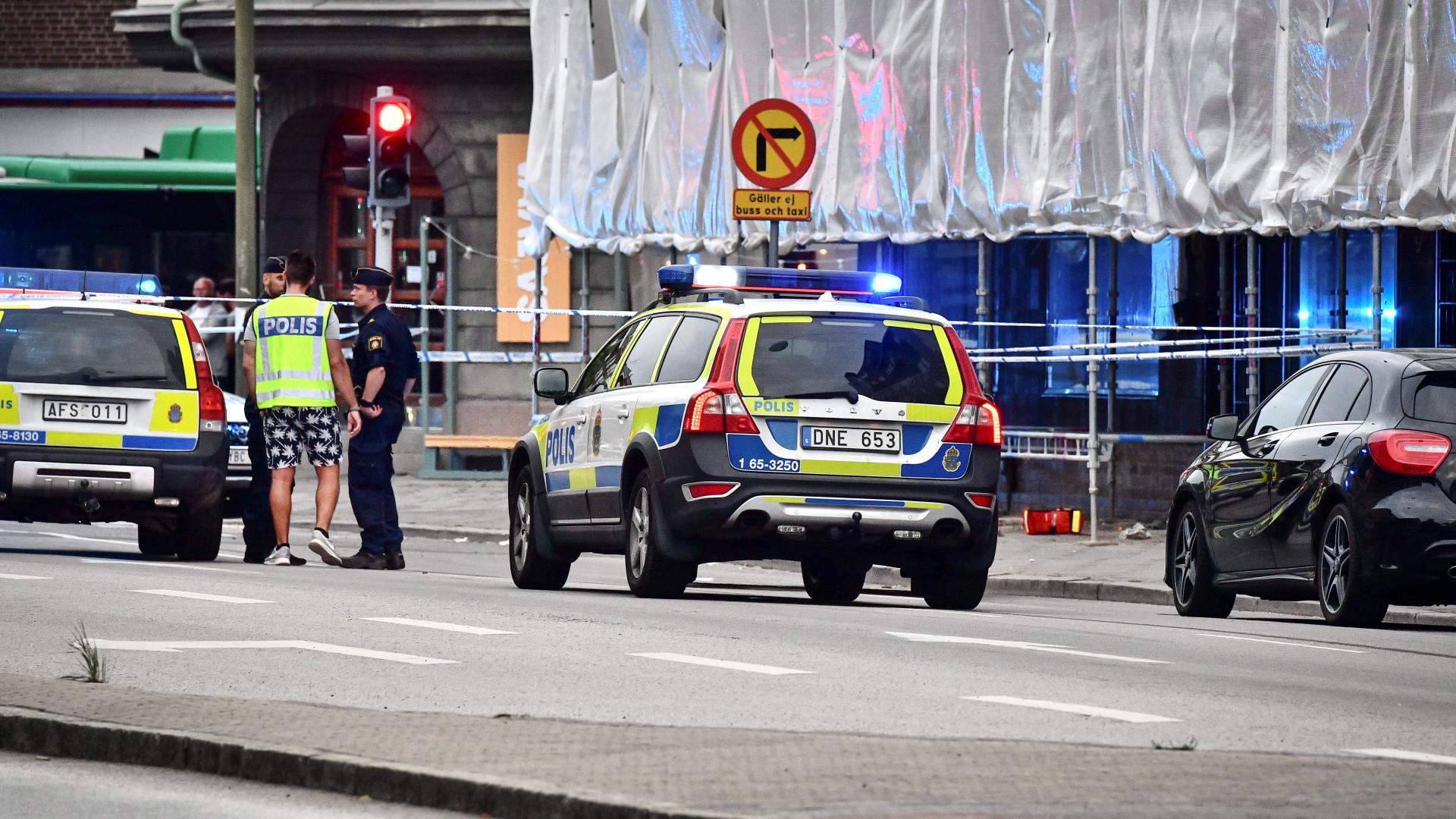 Um morto após tiroteio na Suécia. Caso tratado como homicídio