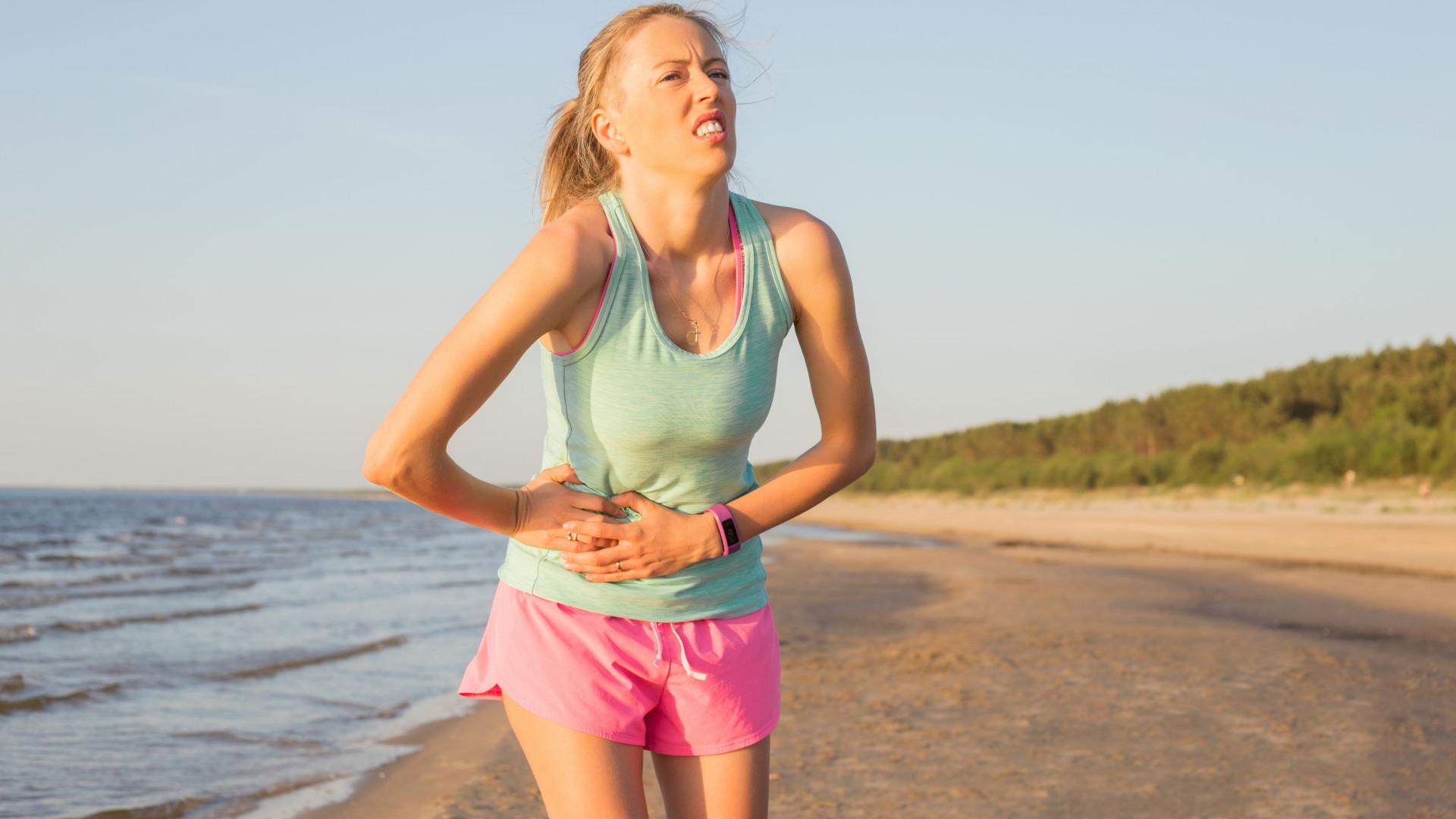 Pontadas durante o treino: Perceba porquê e evite-as