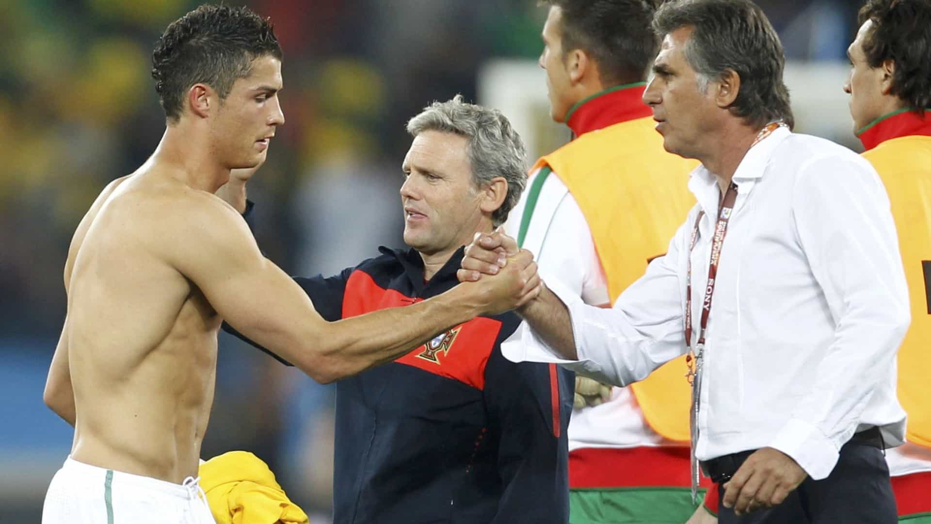 """Queiroz sobre Ronaldo: """"Podemos comprar talento, mas carácter não"""""""