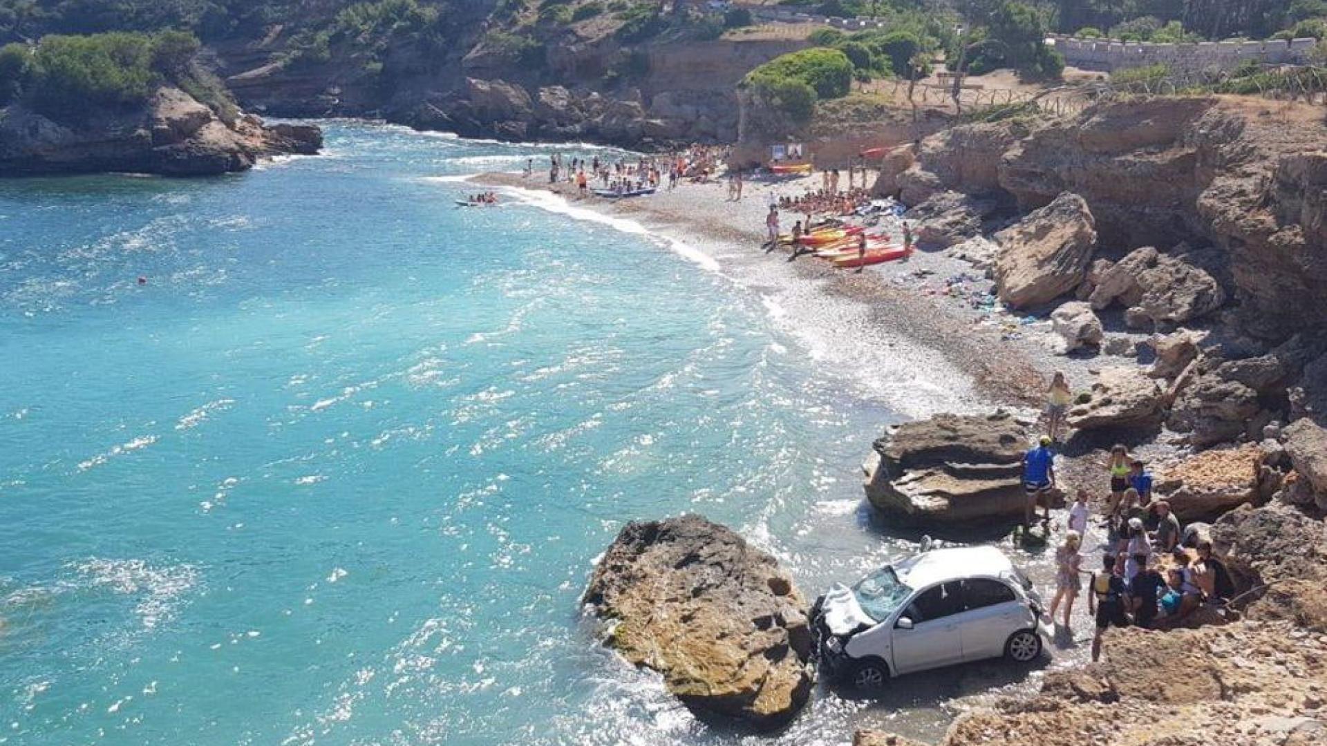 Casal de turistas engana-se nas mudanças e cai de falésia em Maiorca