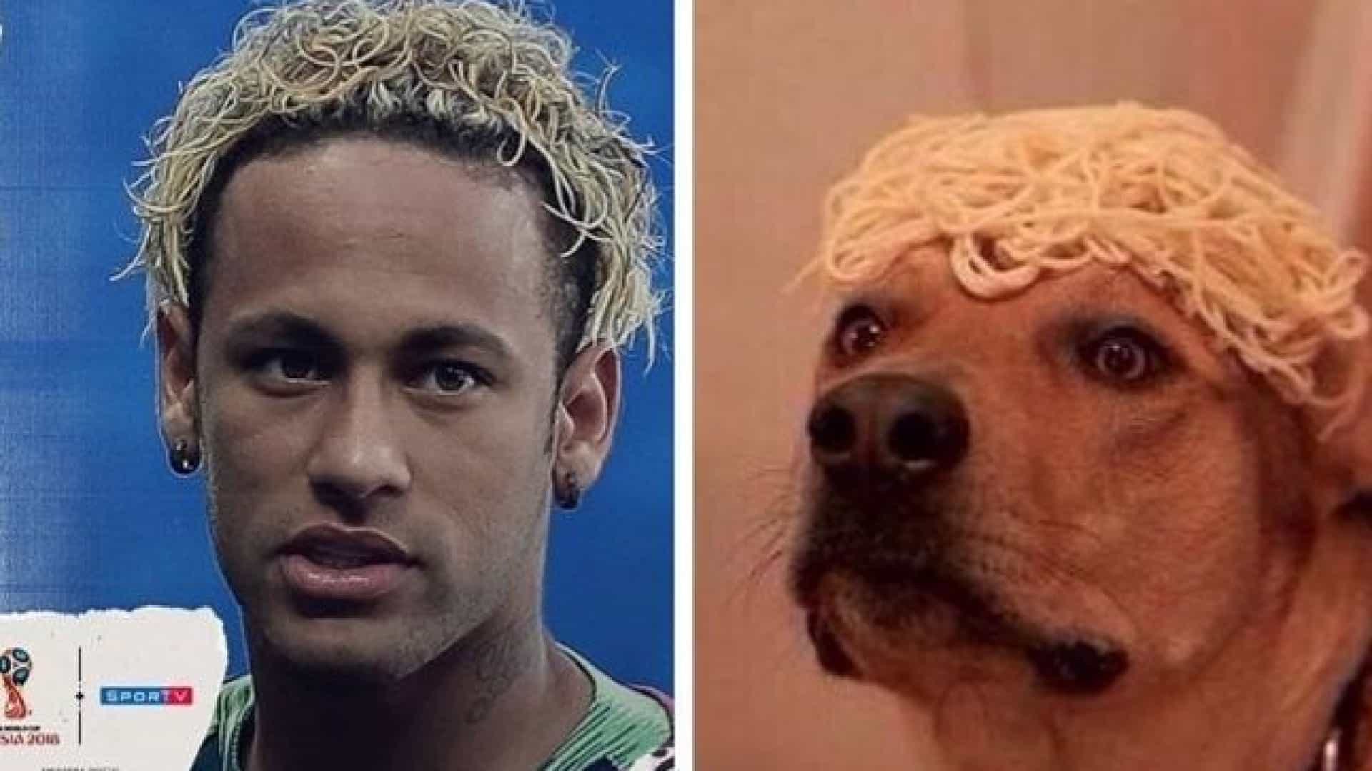 Depois dos memes virais na Internet, Neymar volta a mudar de visual
