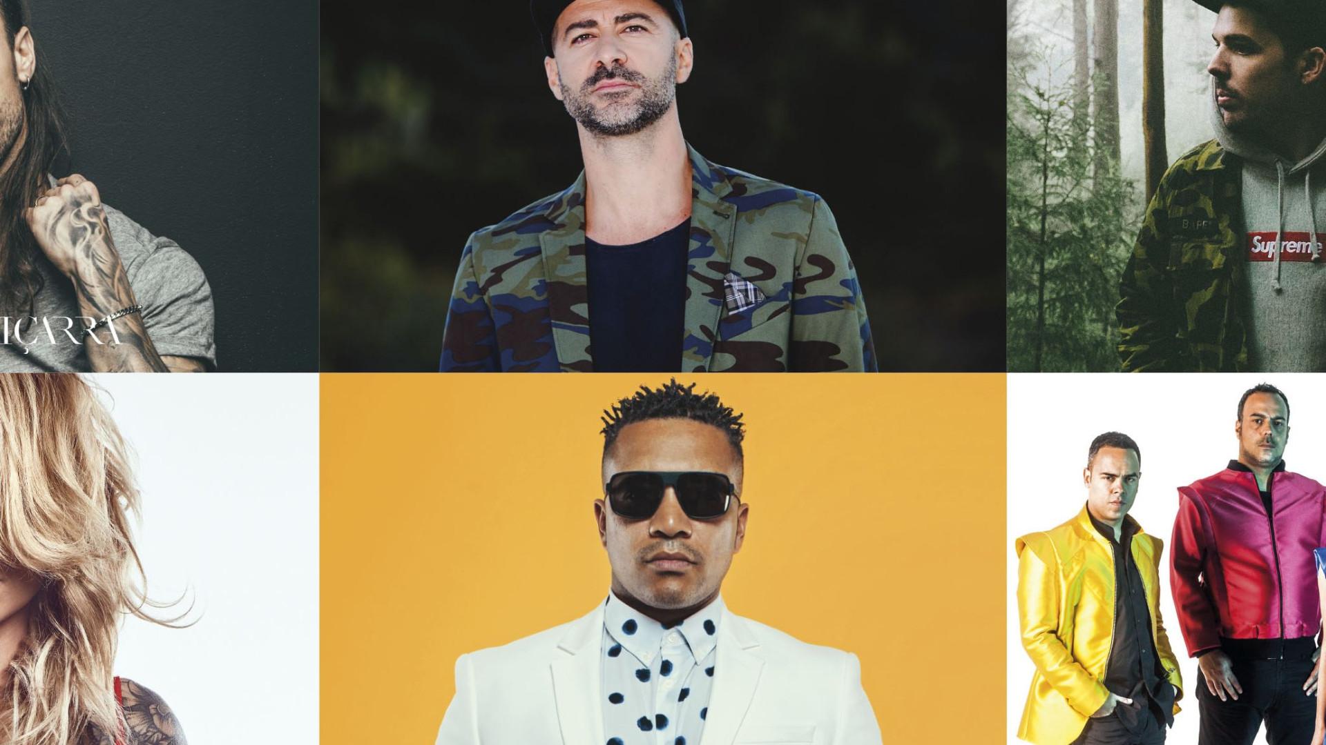 Diogo Piçarra, Aúrea e Dj Ride confirmados na Feira de Agosto