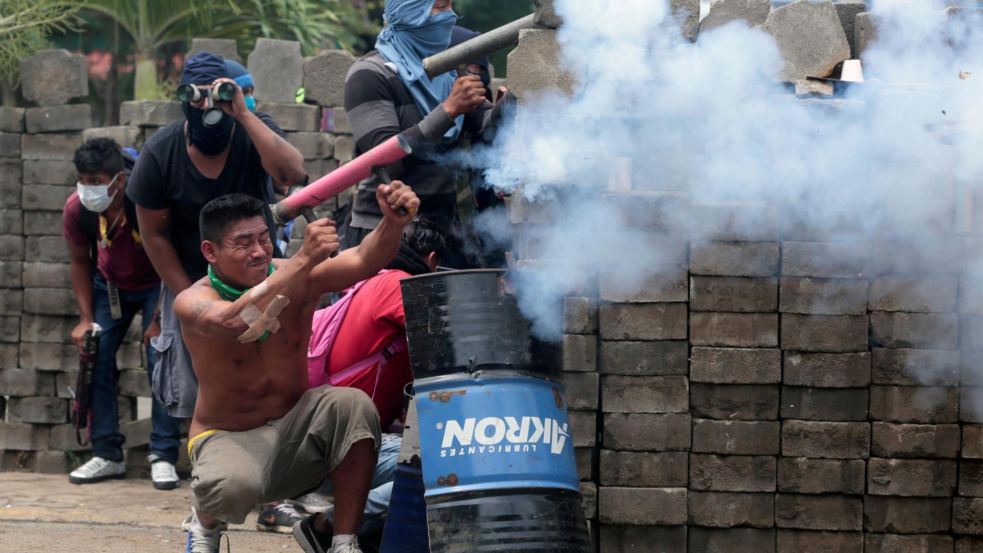 EUA culpam presidente da Nicarágua por onda de violência no país