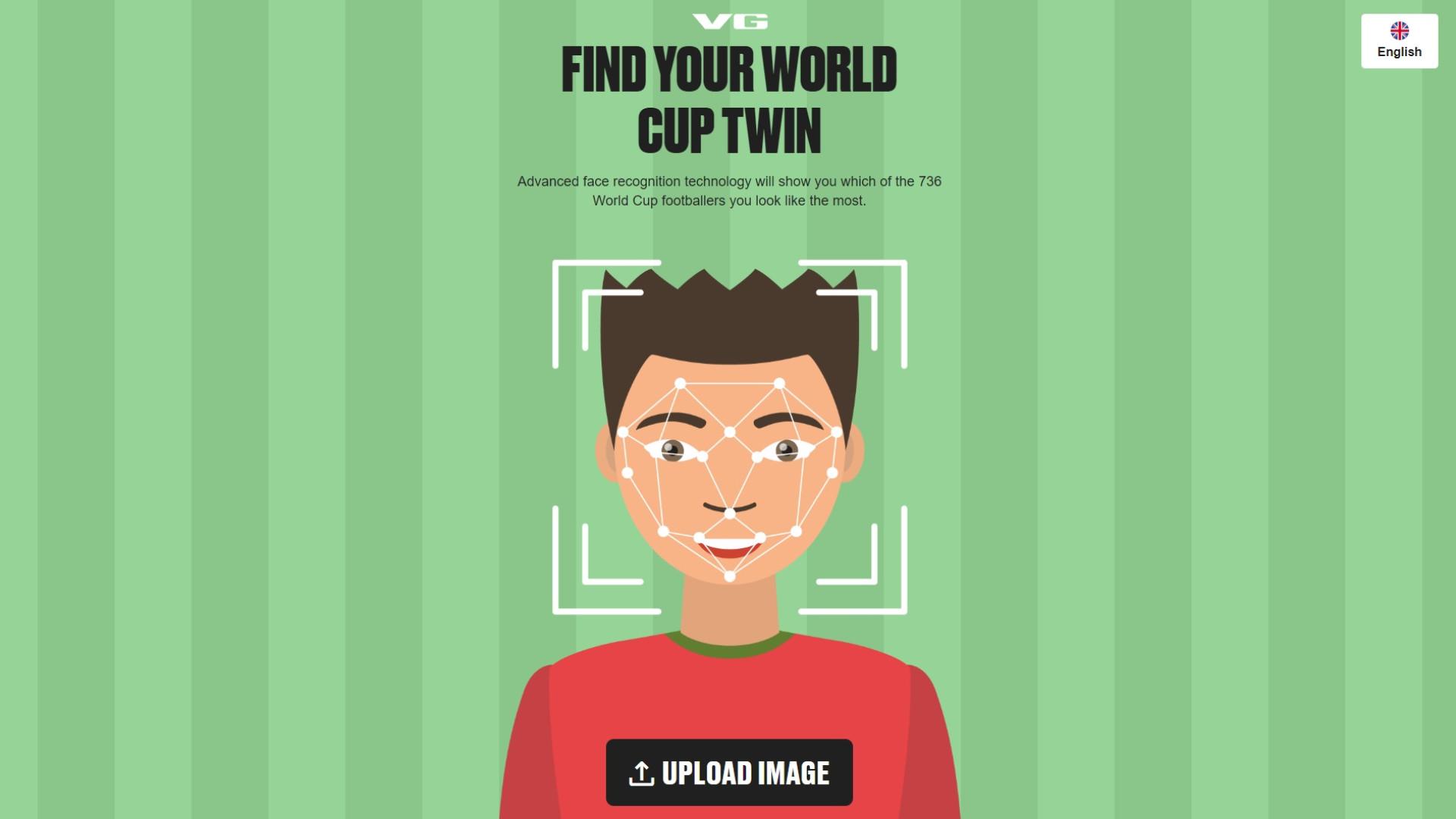 Site quer encontrar o seu 'gémeo' deste Mundial
