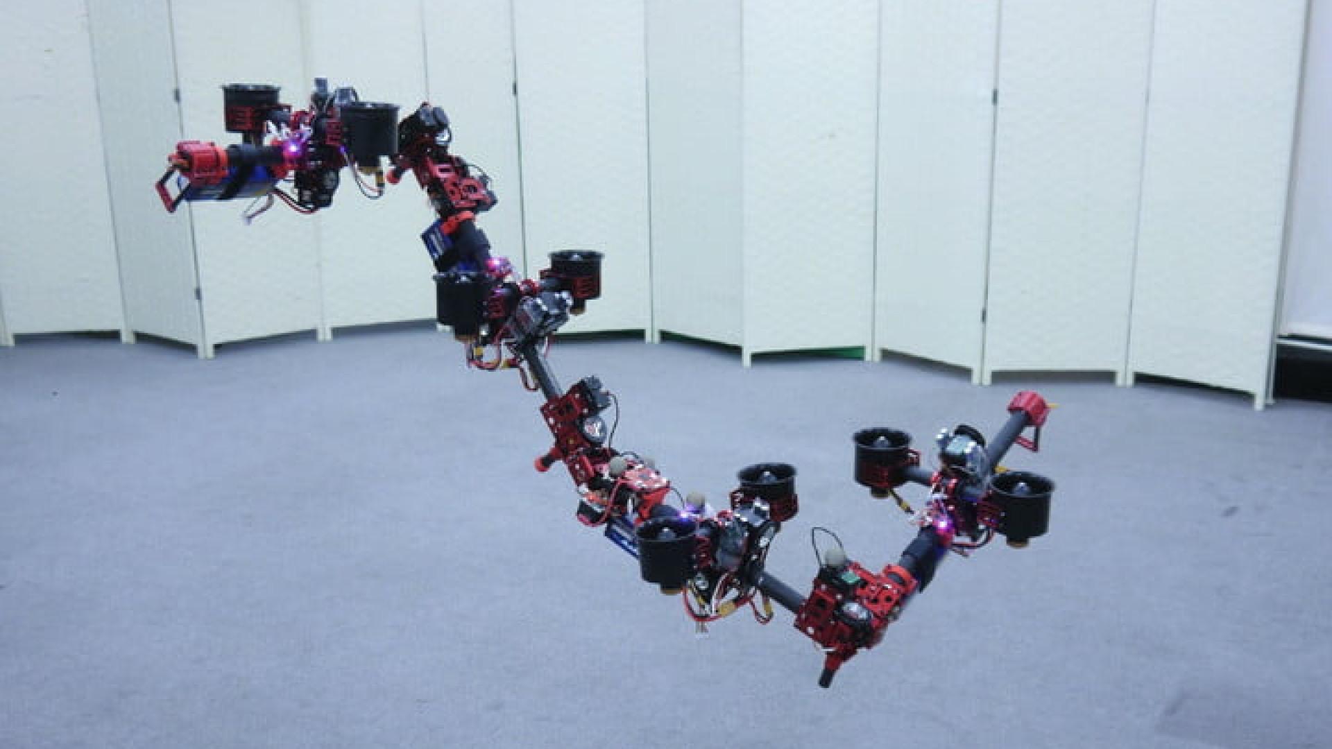 Este pode muito bem ser o drone mais estranho que já viu