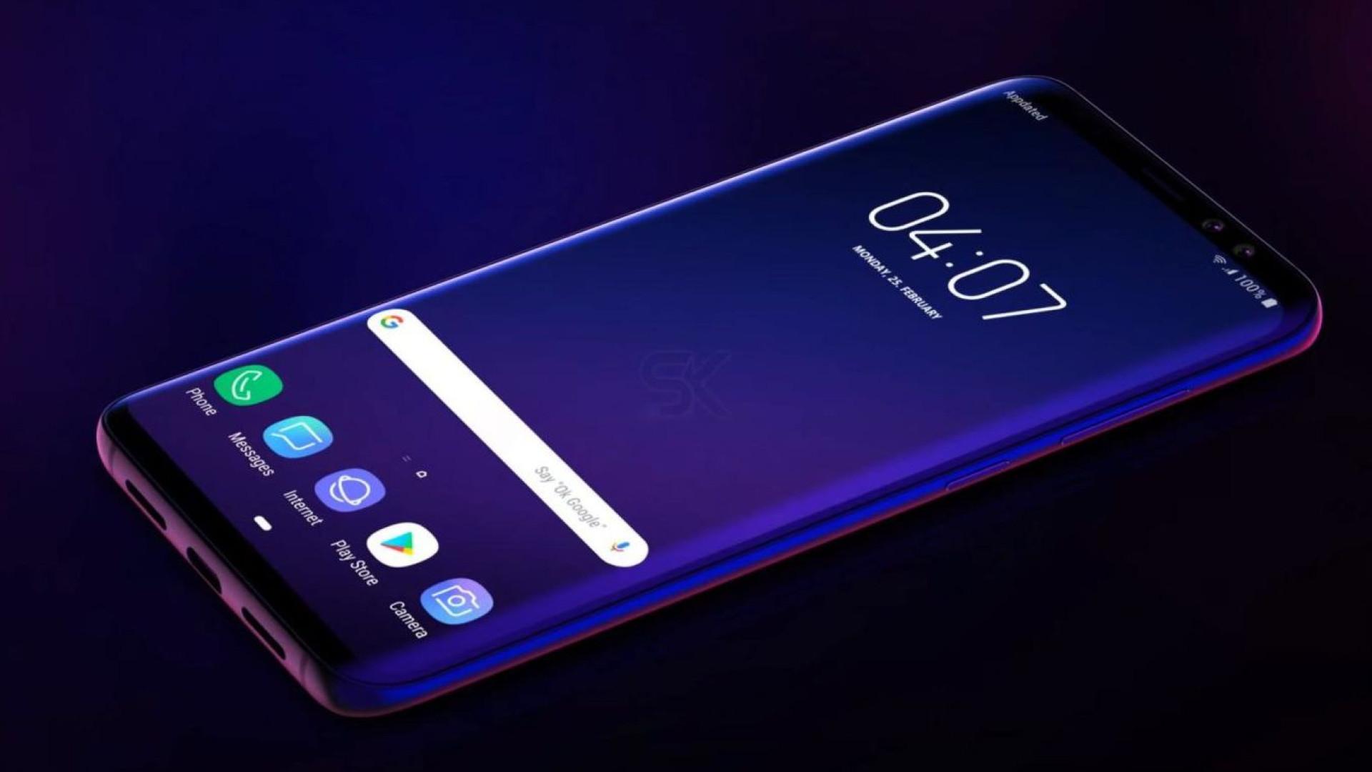 Cuidado, pode 'apaixonar-se' por este 'concept' do Galaxy S10