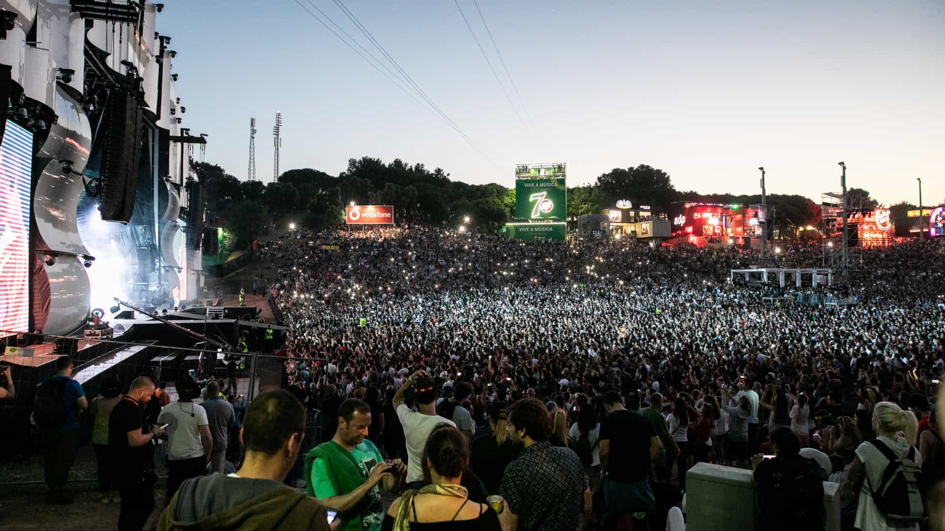 O Rock in Rio chegou a quase seis milhões de portugueses