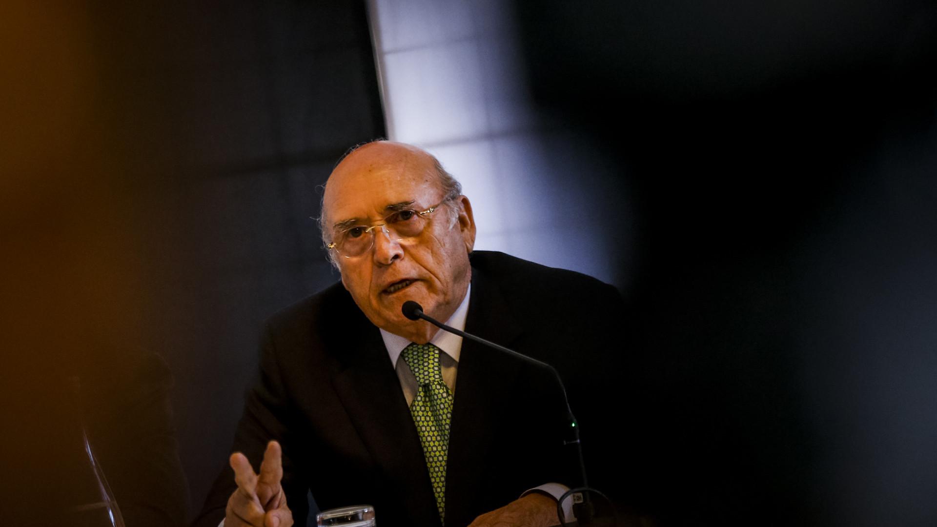 Sousa Cintra confirma penhoras das contas bancárias do Sporting