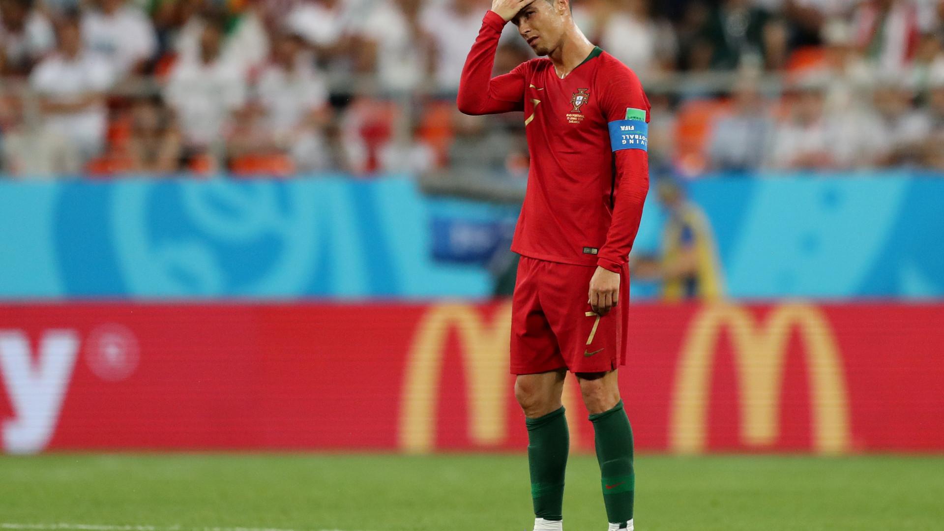 fa008340d2 Portugal esteve em vantagem com um golaço de Quaresma