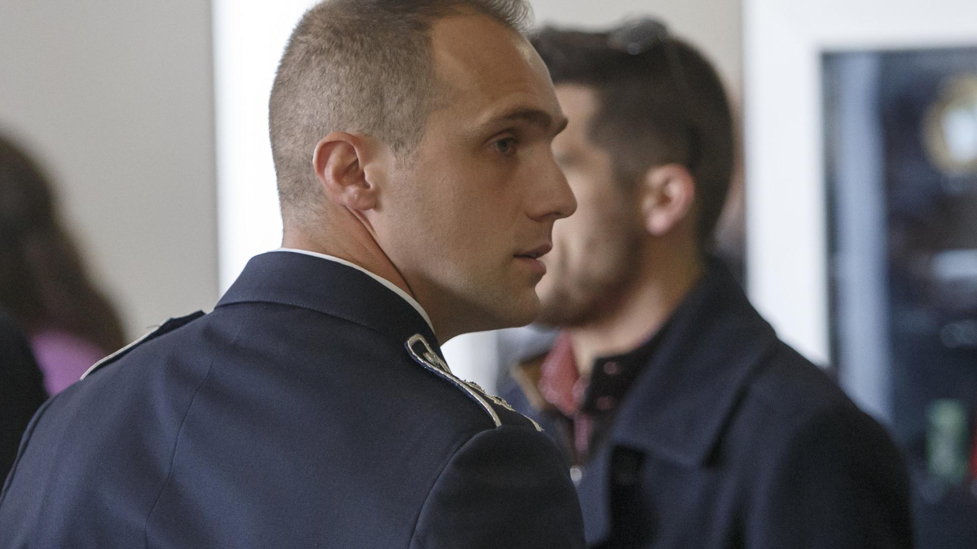 Agente da PSP reclama absolvição em caso de agressões a adeptos do SLB