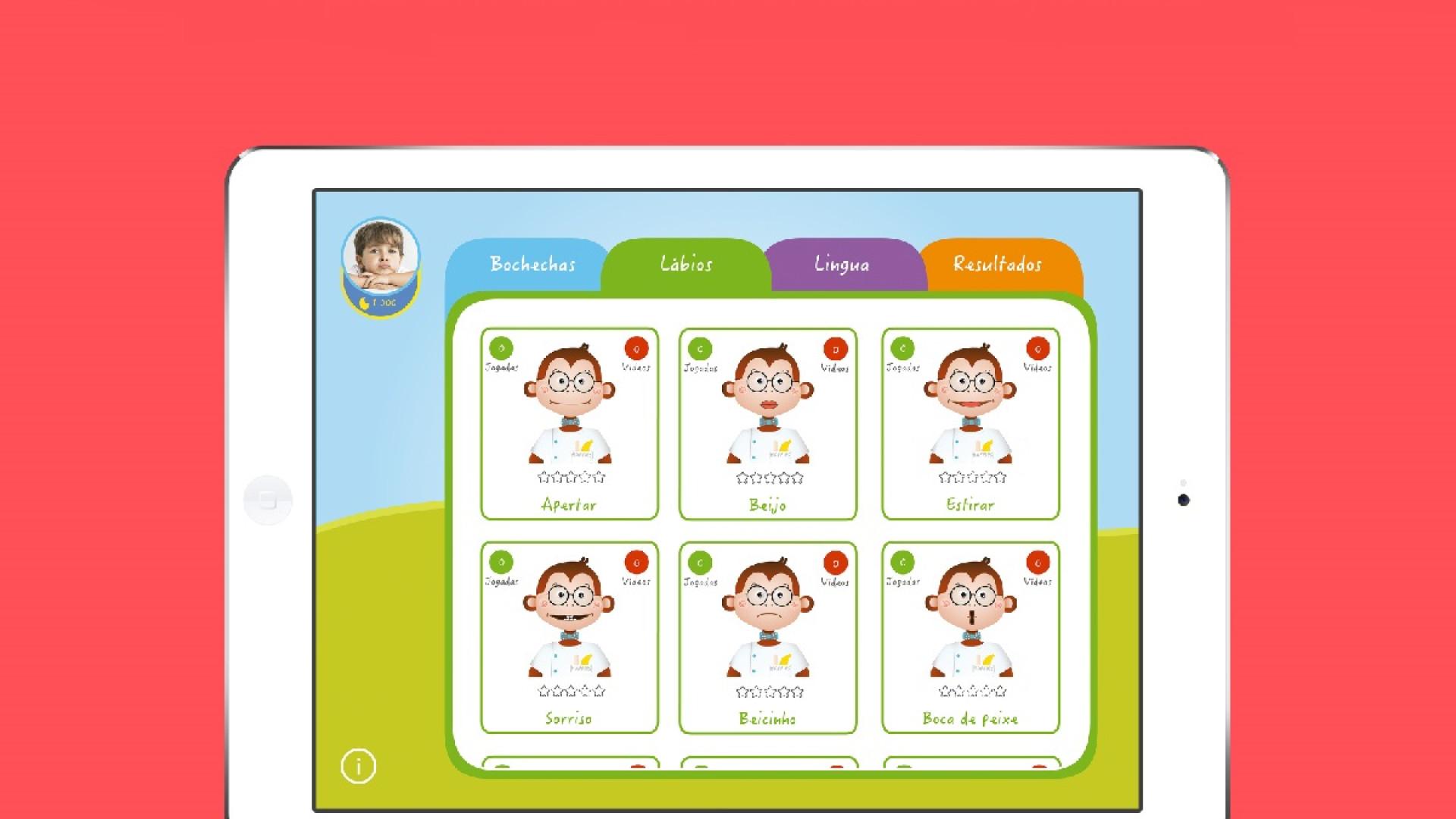 Chegou a app que vai ajudar os mais novos com dificuldades na fala