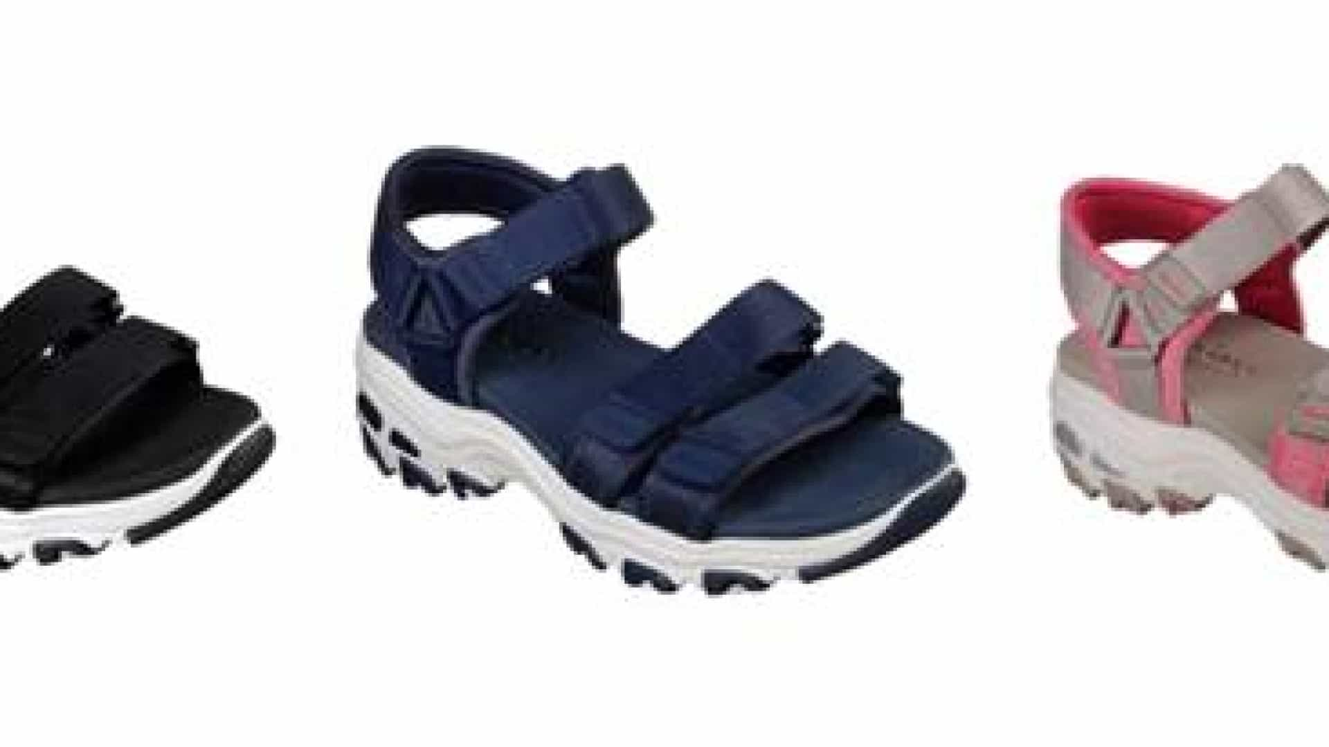 Não fuja à tendência, a moda da sandália de velcro pode ter voltado