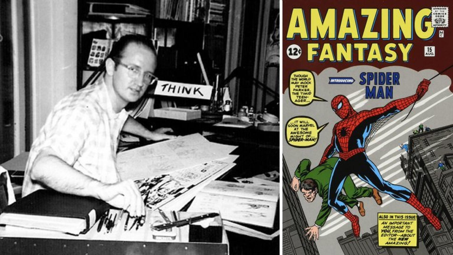 Morreu Steve Ditko, o homem que criou o Homem-Aranha com Stan Lee