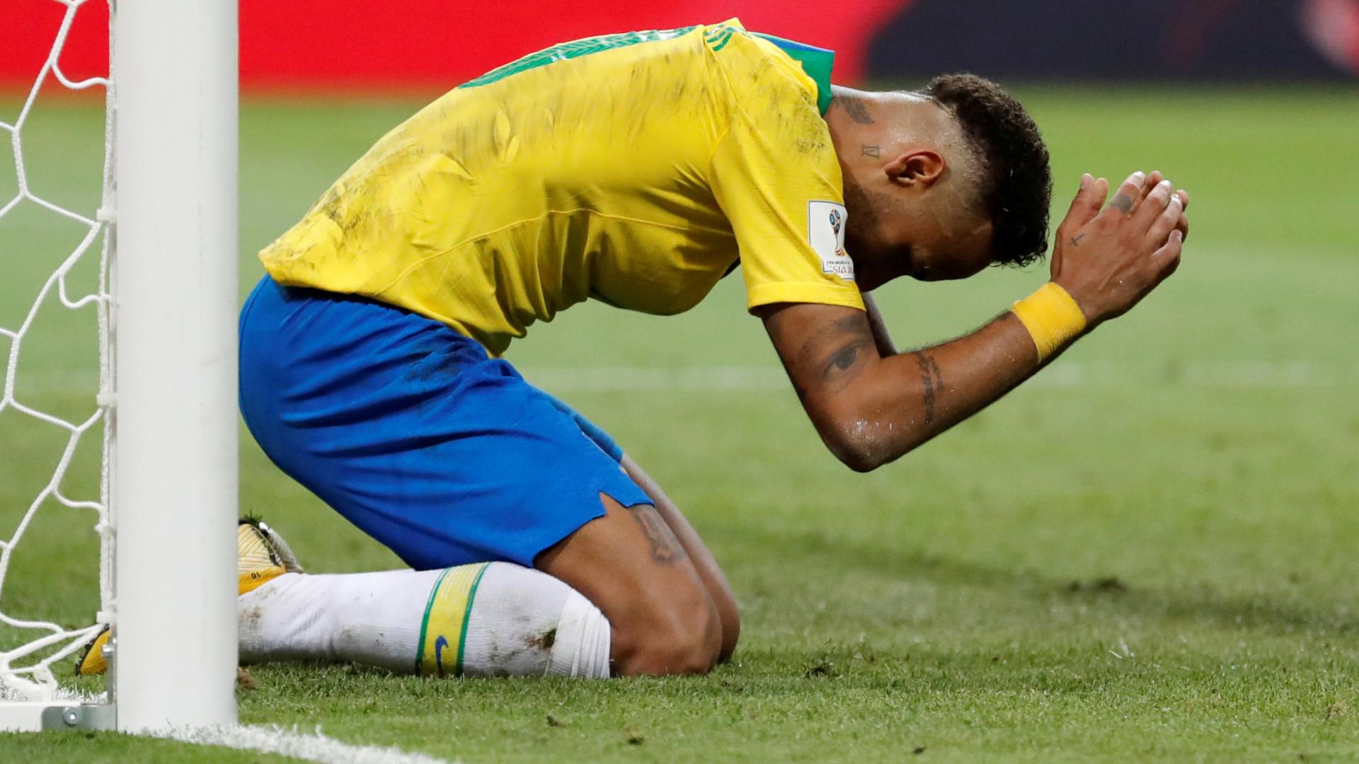 """Neymar prova do seu próprio 'veneno': """"Quem é que vai para casa agora?"""""""