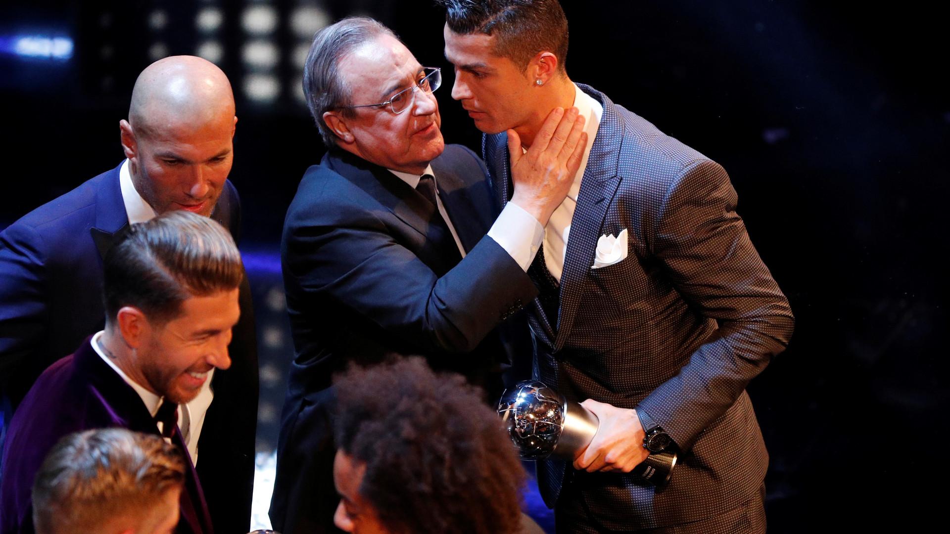 Presidente do Real Madrid faz uma última exigência para deixar CR7 sair