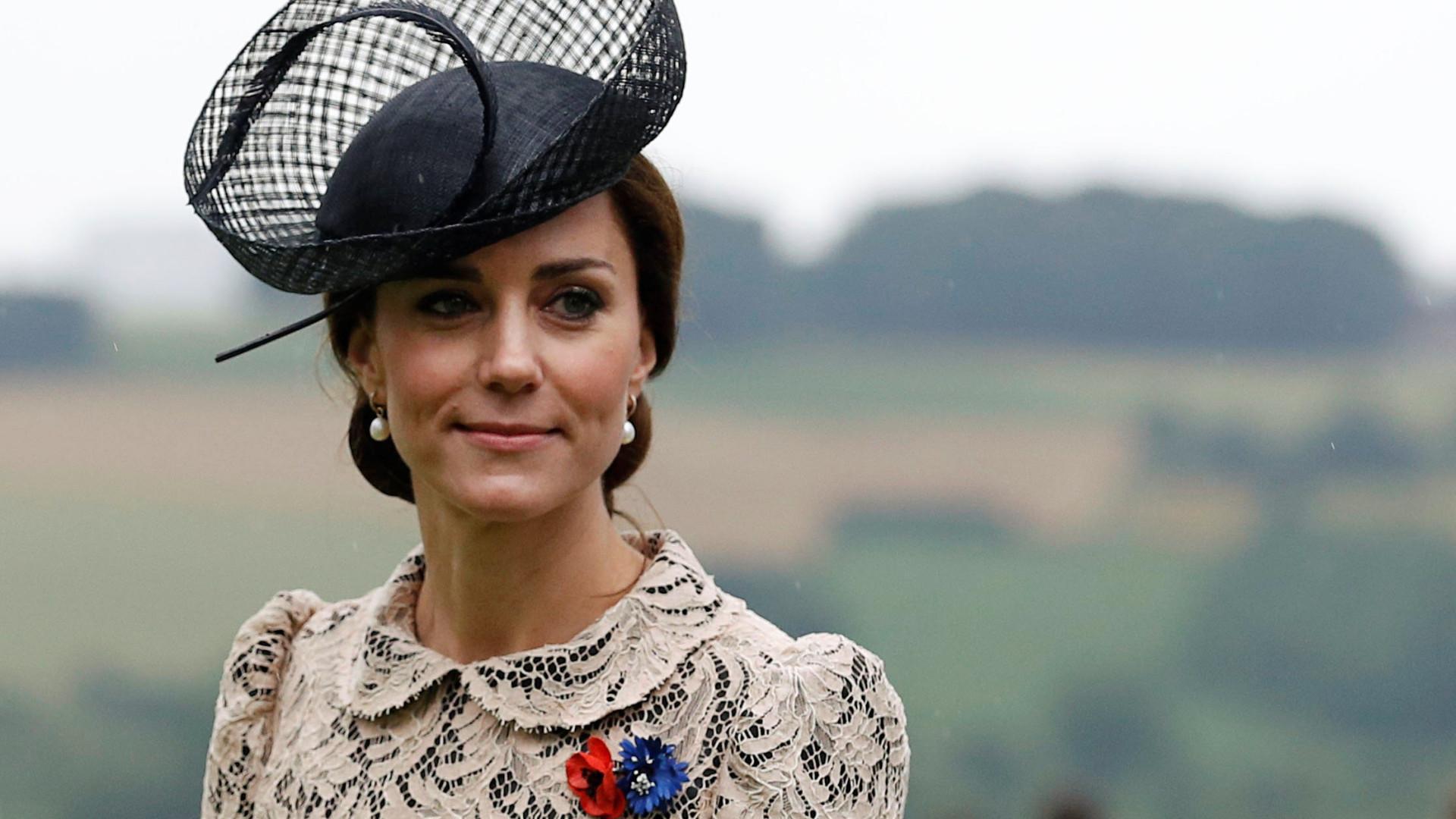 Kate Middleton fez uma pausa na sua licença de maternidade esta semana