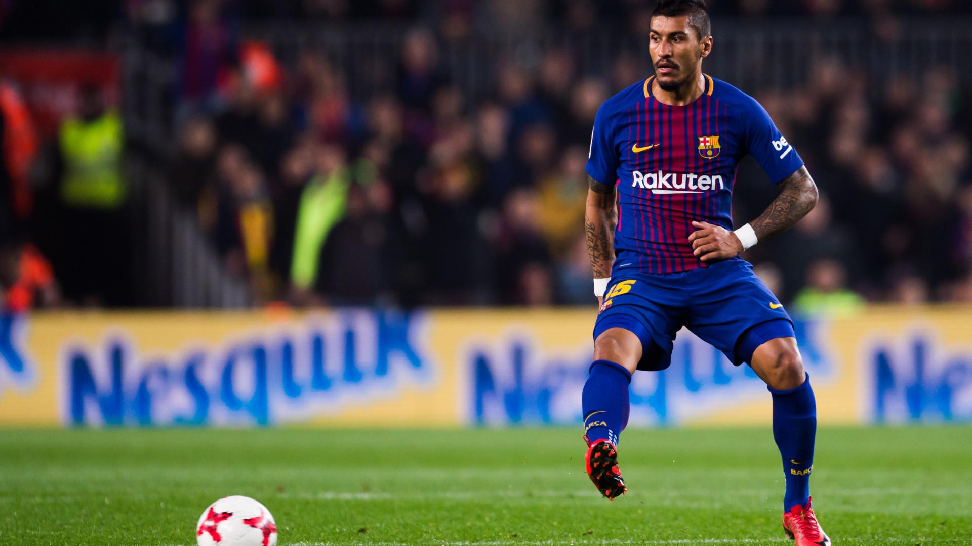 Paulinho já tomou decisão e vai deixar o Barcelona