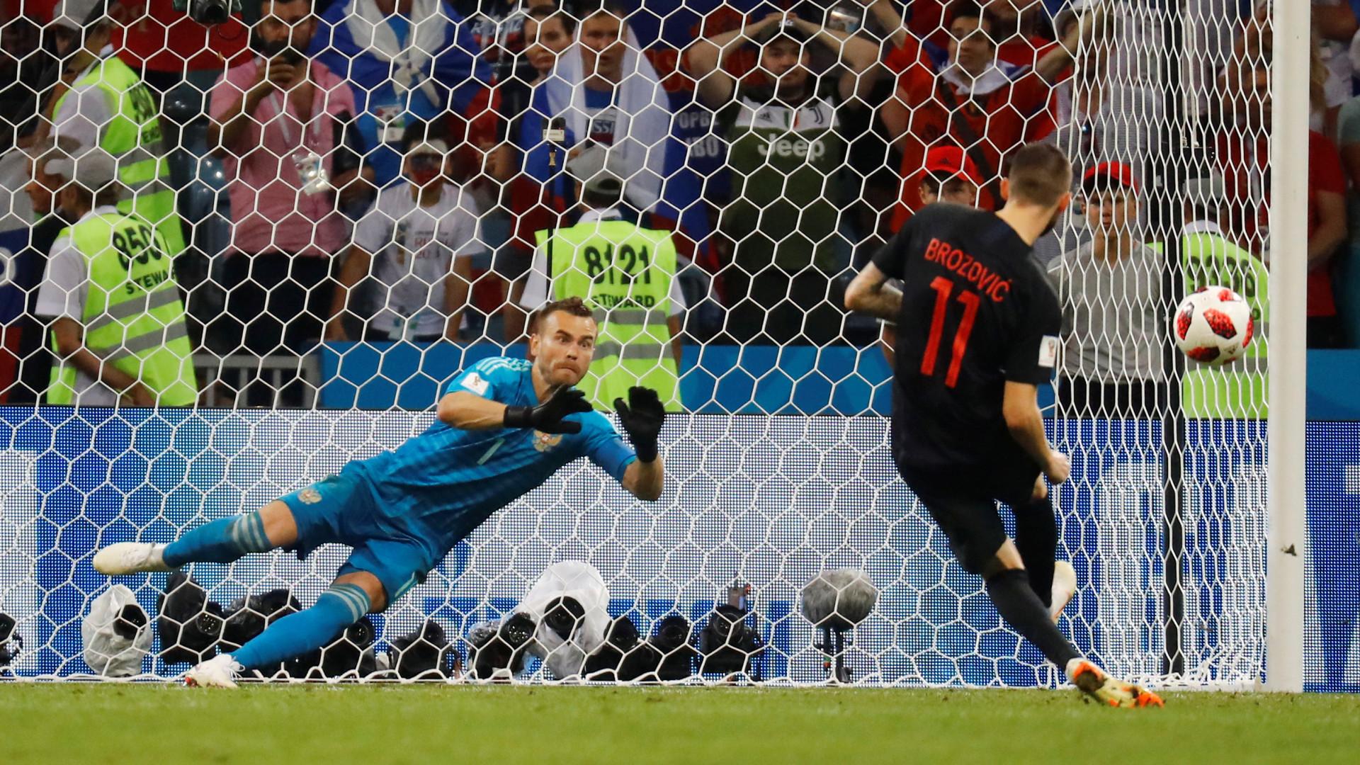 Croácia venceu a 'lotaria' e está nas meias do Mundial
