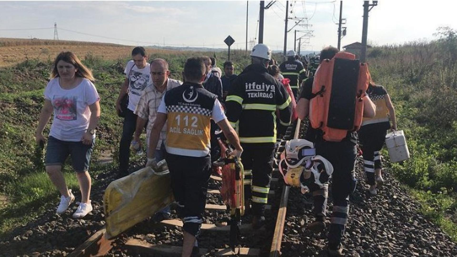 Comboio descarrila na Turquia. Há vários mortos e feridos