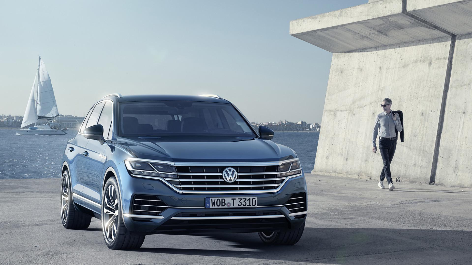 Novo Volkswagen Touareg disponível em setembro