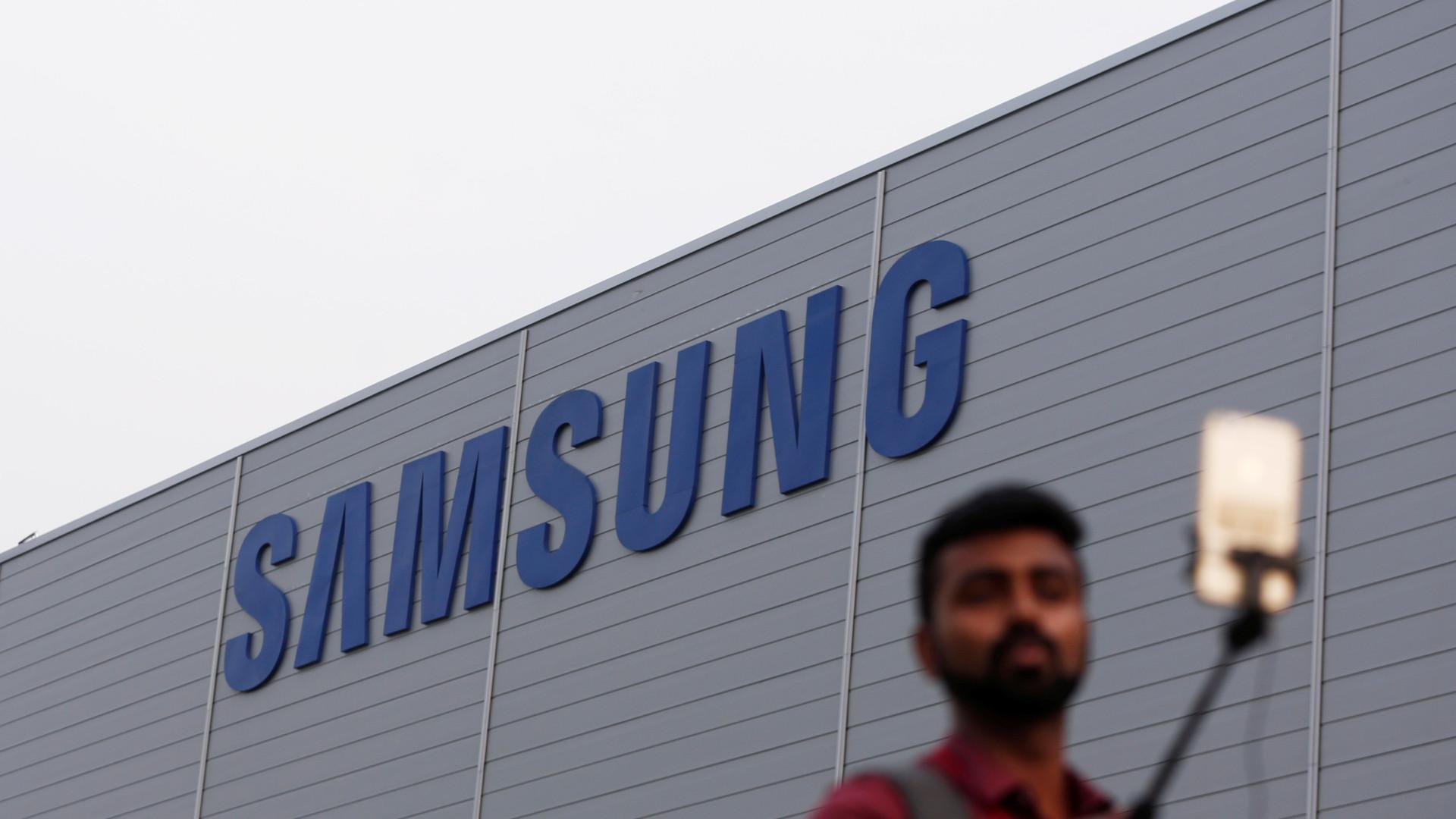 Samsung abriu a maior fábrica de smartphones do mundo na Índia