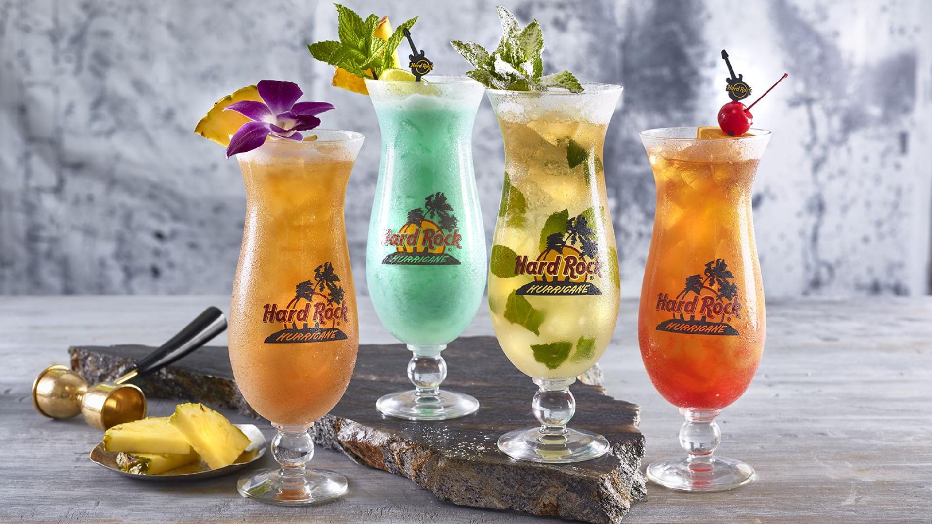 Refresque-se com os novos cocktails de verão do Hard Rock Café