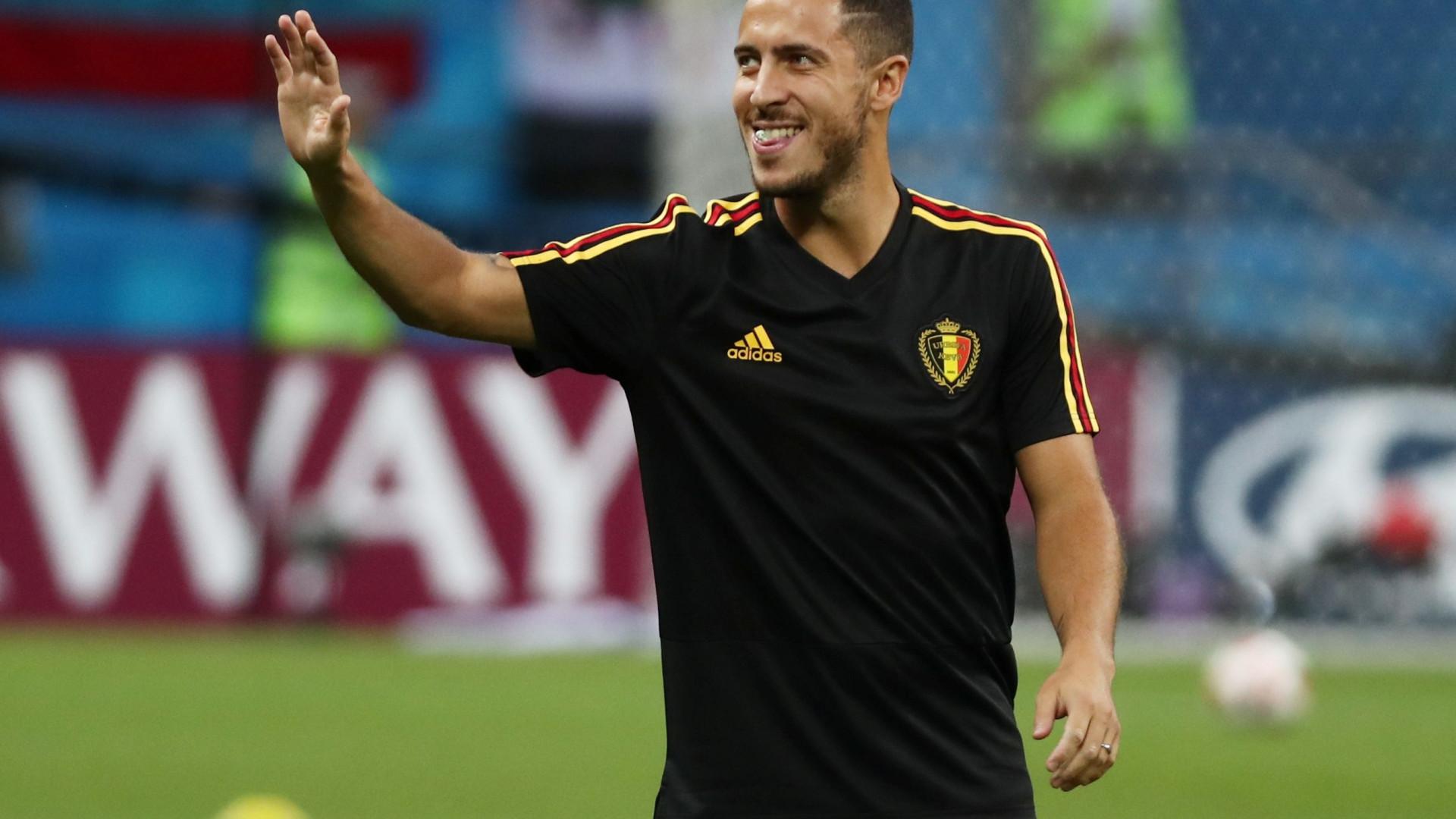 Merengues respondem ao interesse do Barça em Hazard com uma loucura