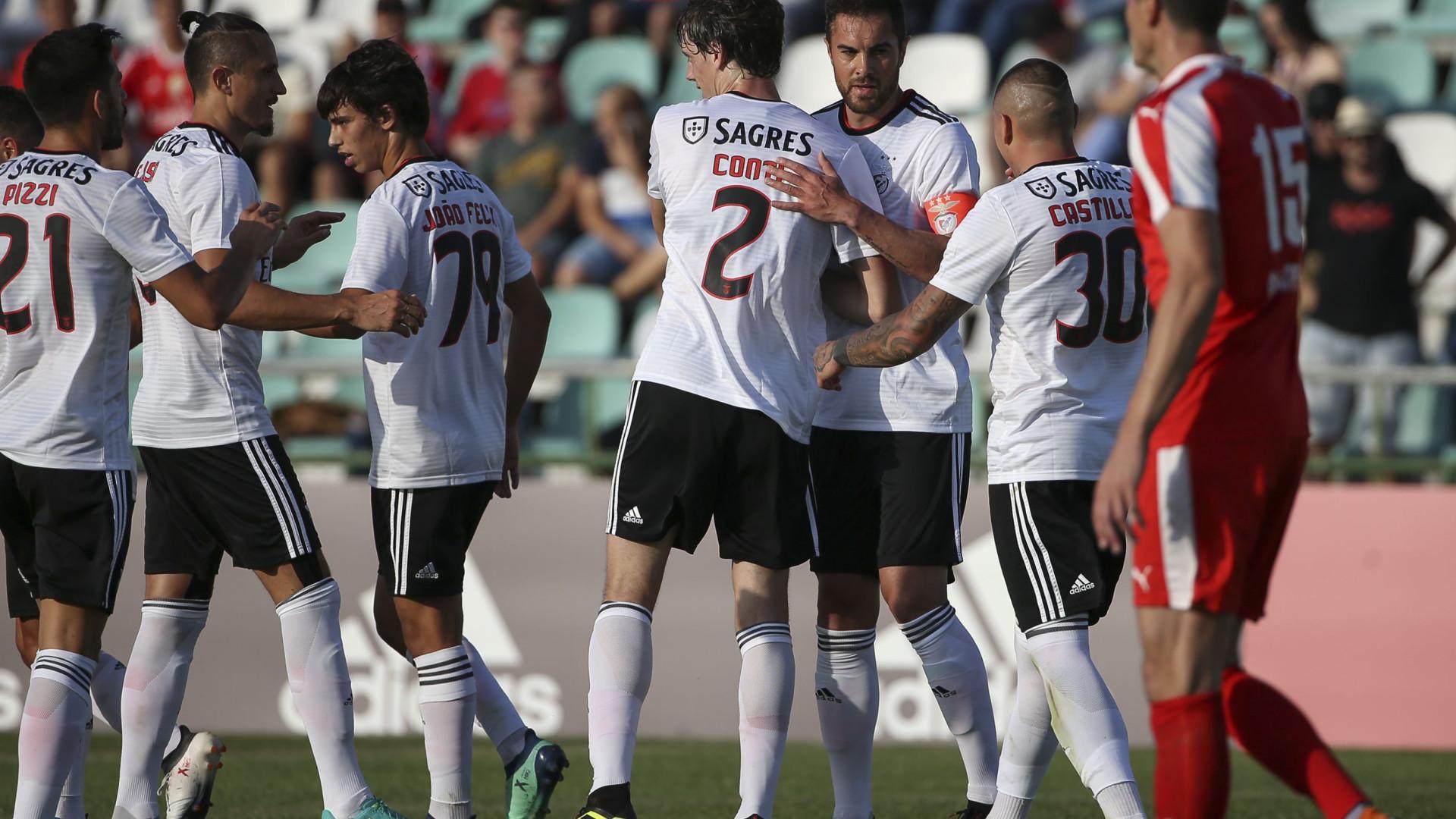 Benfica passa no primeiro teste com boa nota dos reforços