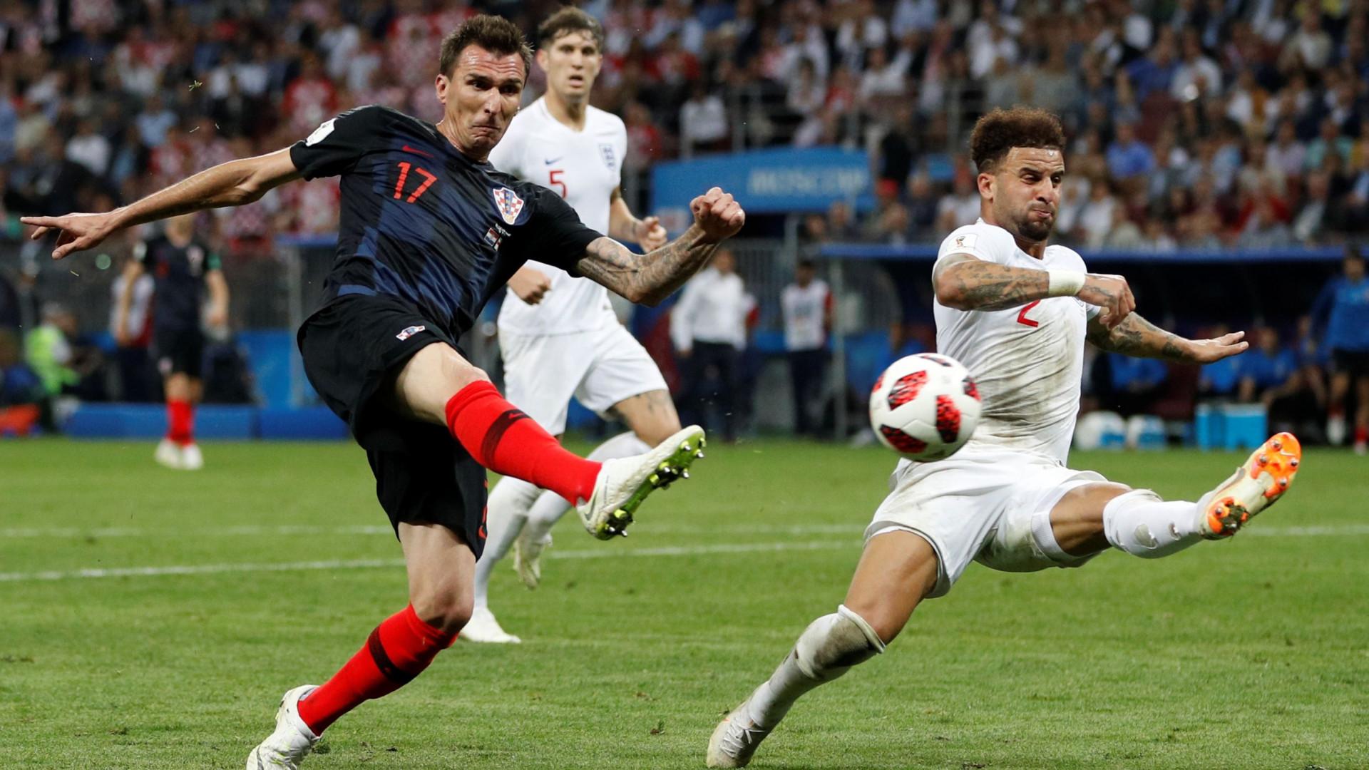 'It's not coming home': Croácia agarra-se à França na final de Moscovo