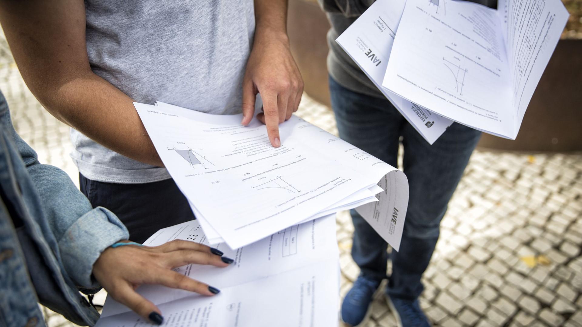 Exames nacionais: Aumentam reprovações a Matemática e História