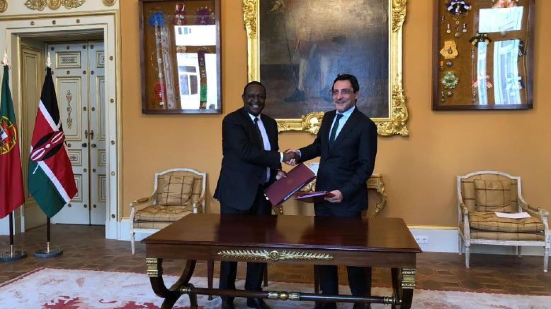 Portugal e Quénia assinam acordo para eliminar a dupla tributação