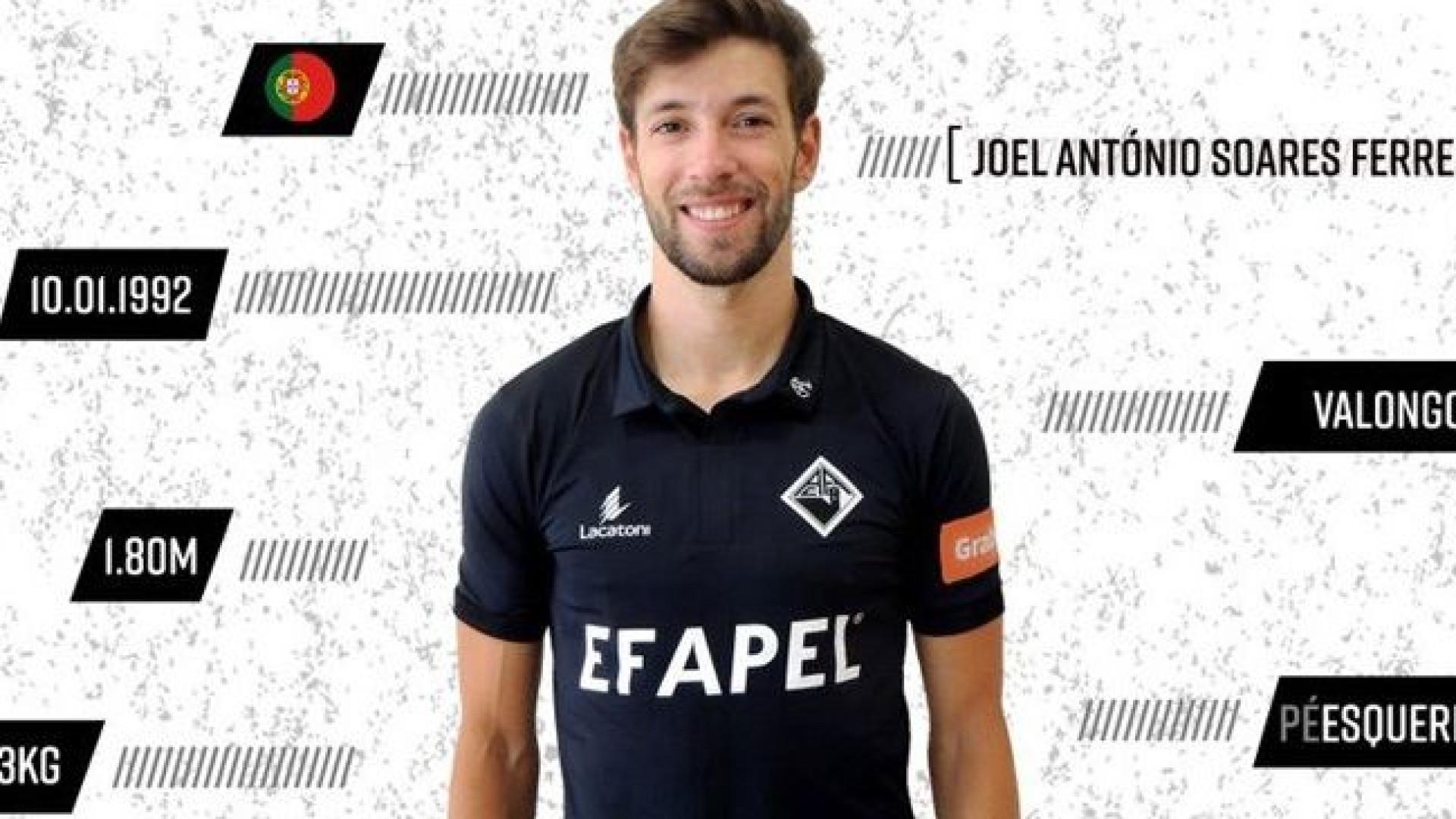 Joel Ferreira deixa o Estoril e reforça a Académica