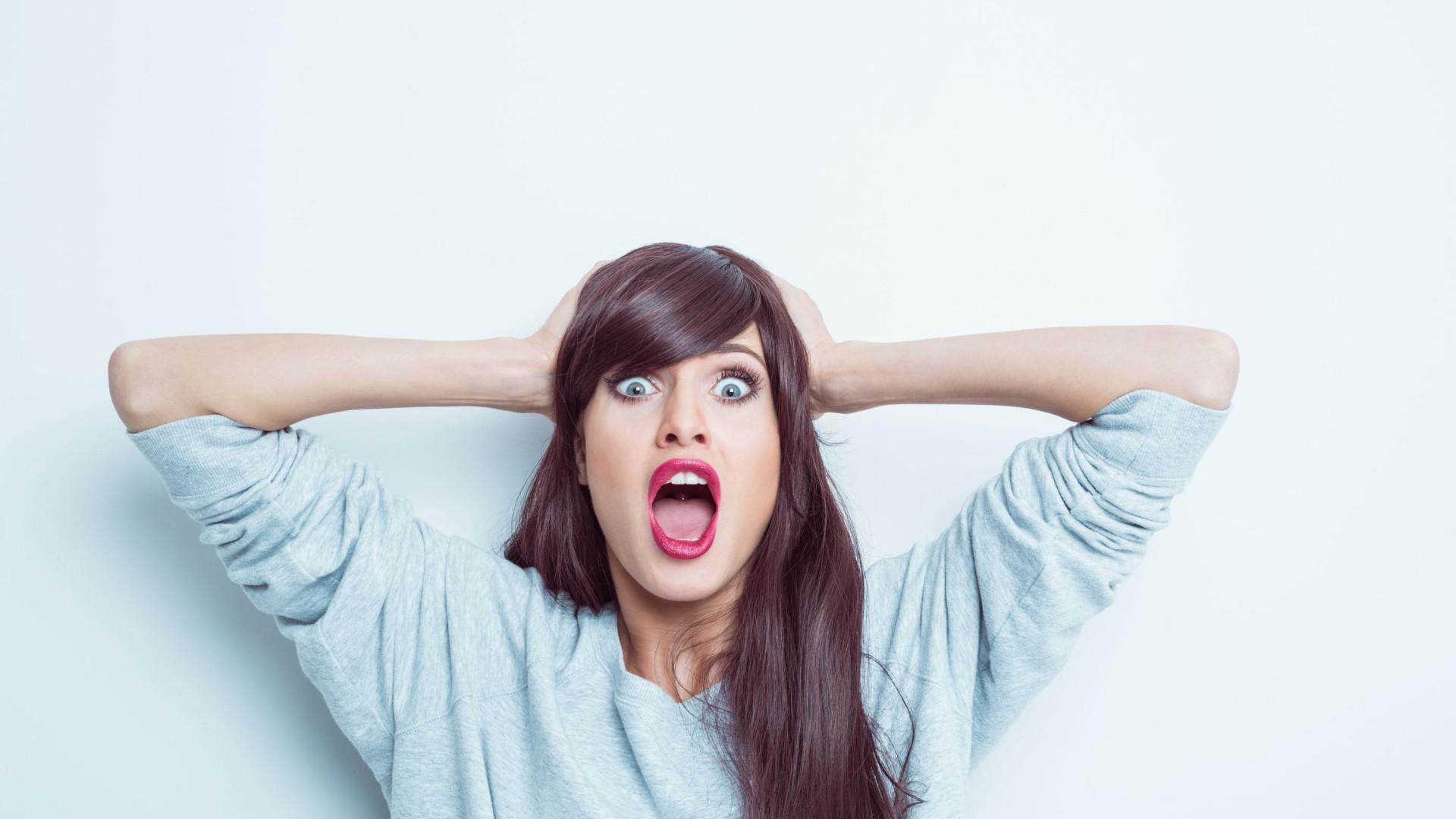 Até níveis de stress minímos fazem isto ao seu corpo (não é bonito...)