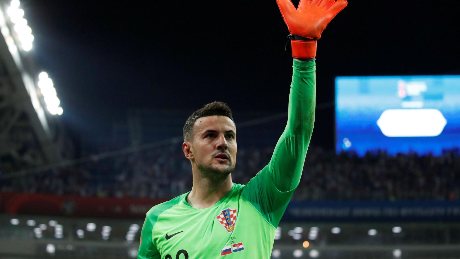 A maldição de guarda-redes que pode afetar a Croácia na final