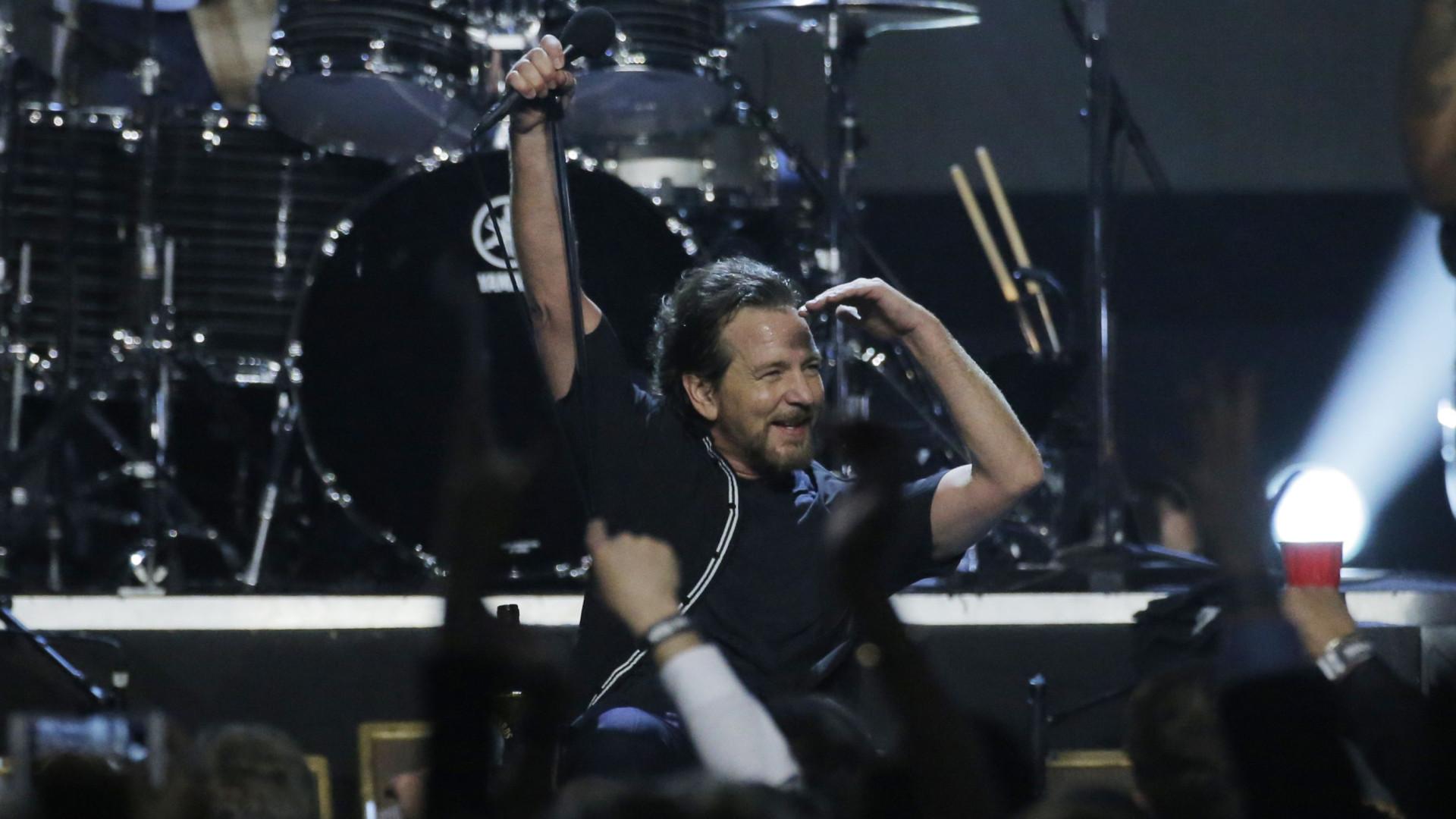 Alive: Pearl Jam encerram hoje a 12.ª edição do festival