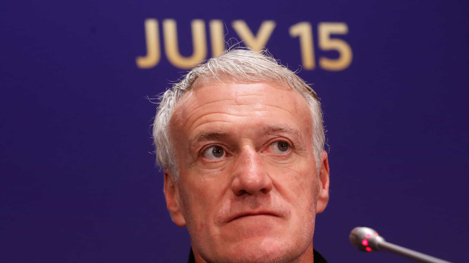 Na véspera da final do Mundial, Deschamps recorda... Portugal