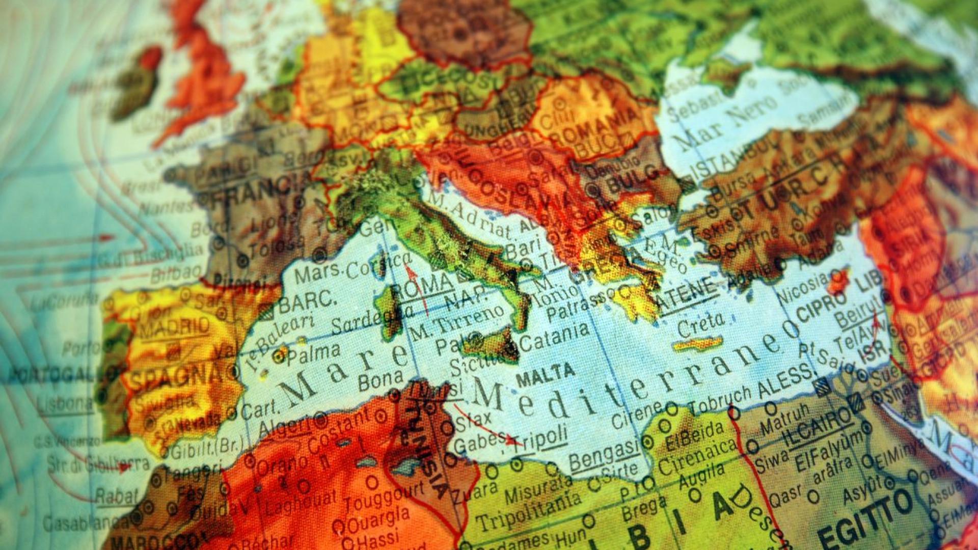 Mar Mediterrâneo, o cemitério para milhares de migrantes deste 2014