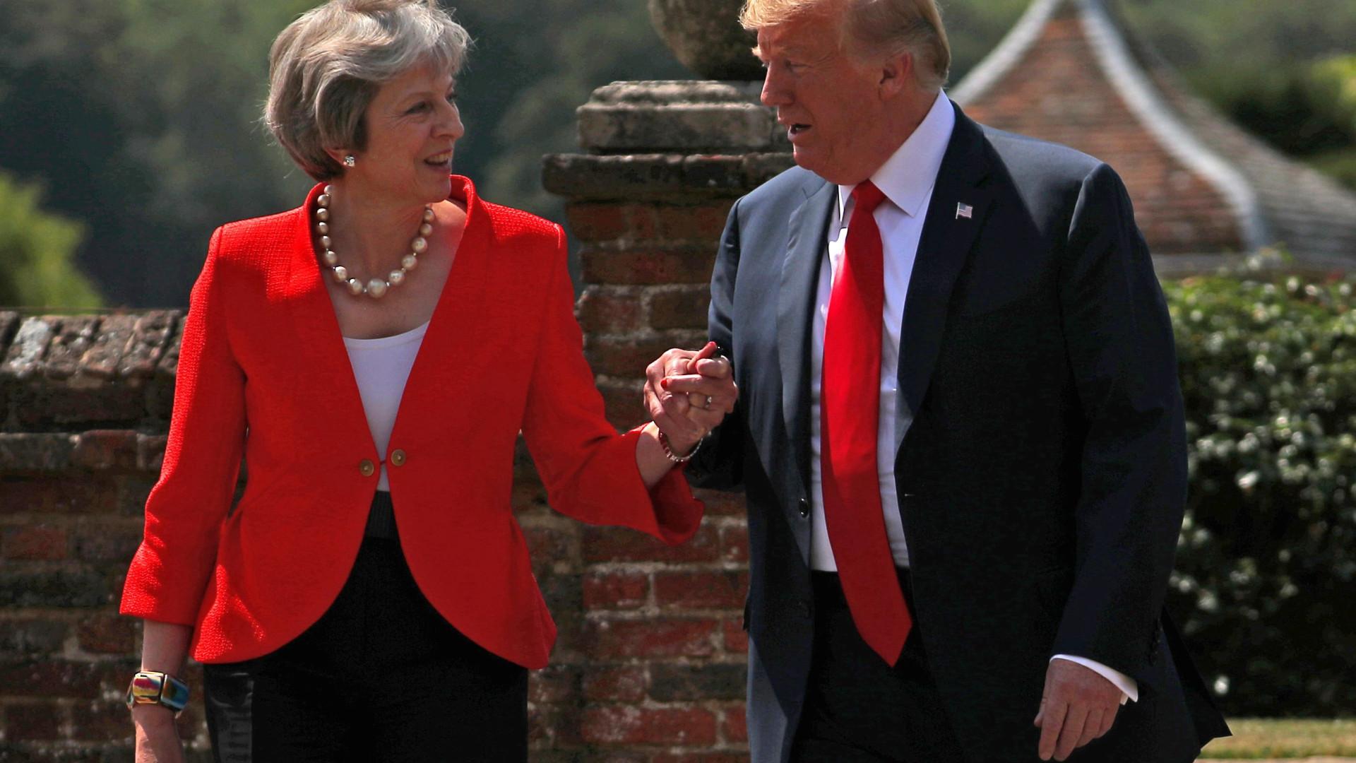 """Trump aconselhou o Reino Unido a """"processar"""" a União Europeia"""