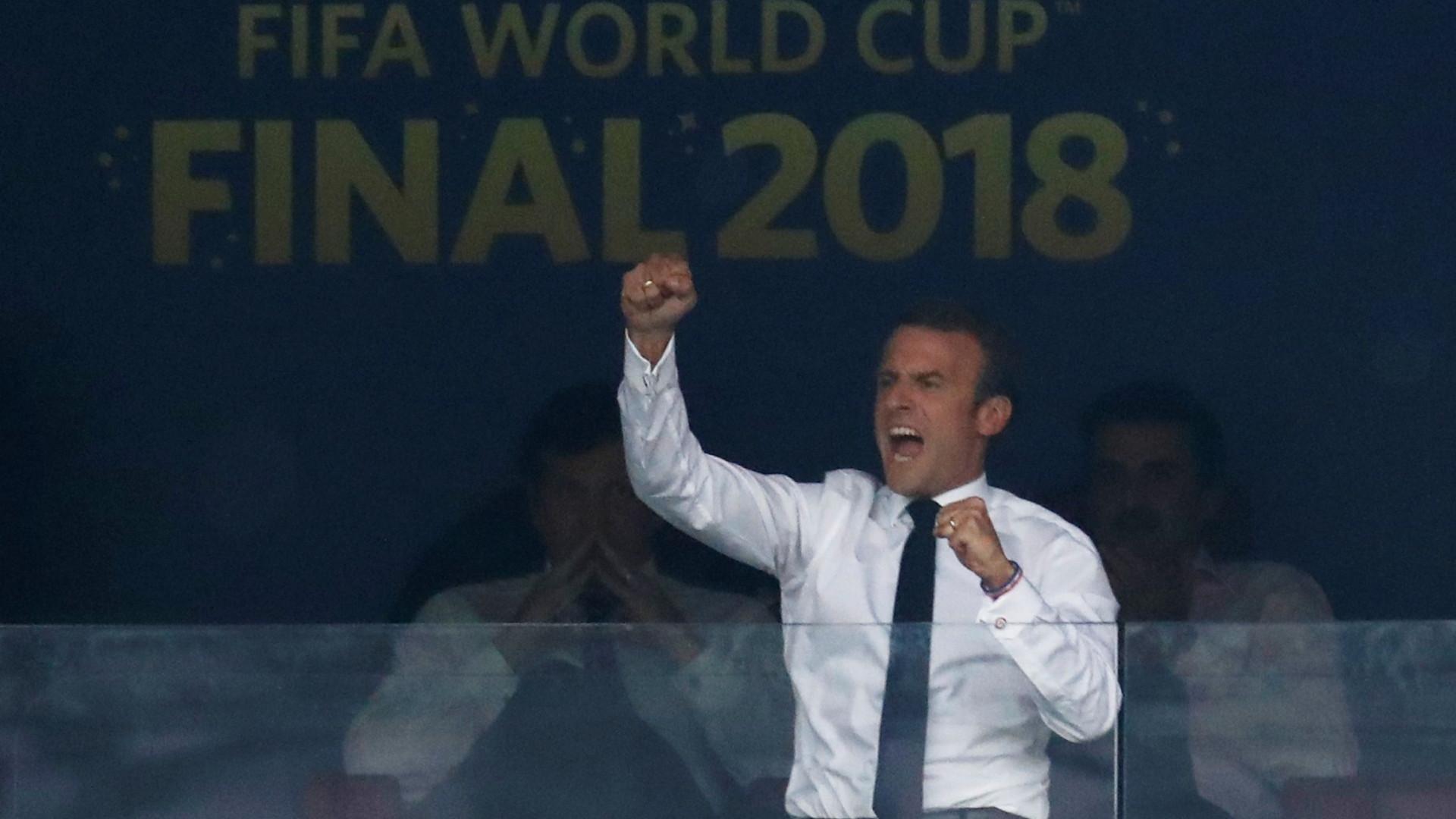 Marcelo felicita Macron por vitória da seleção da França