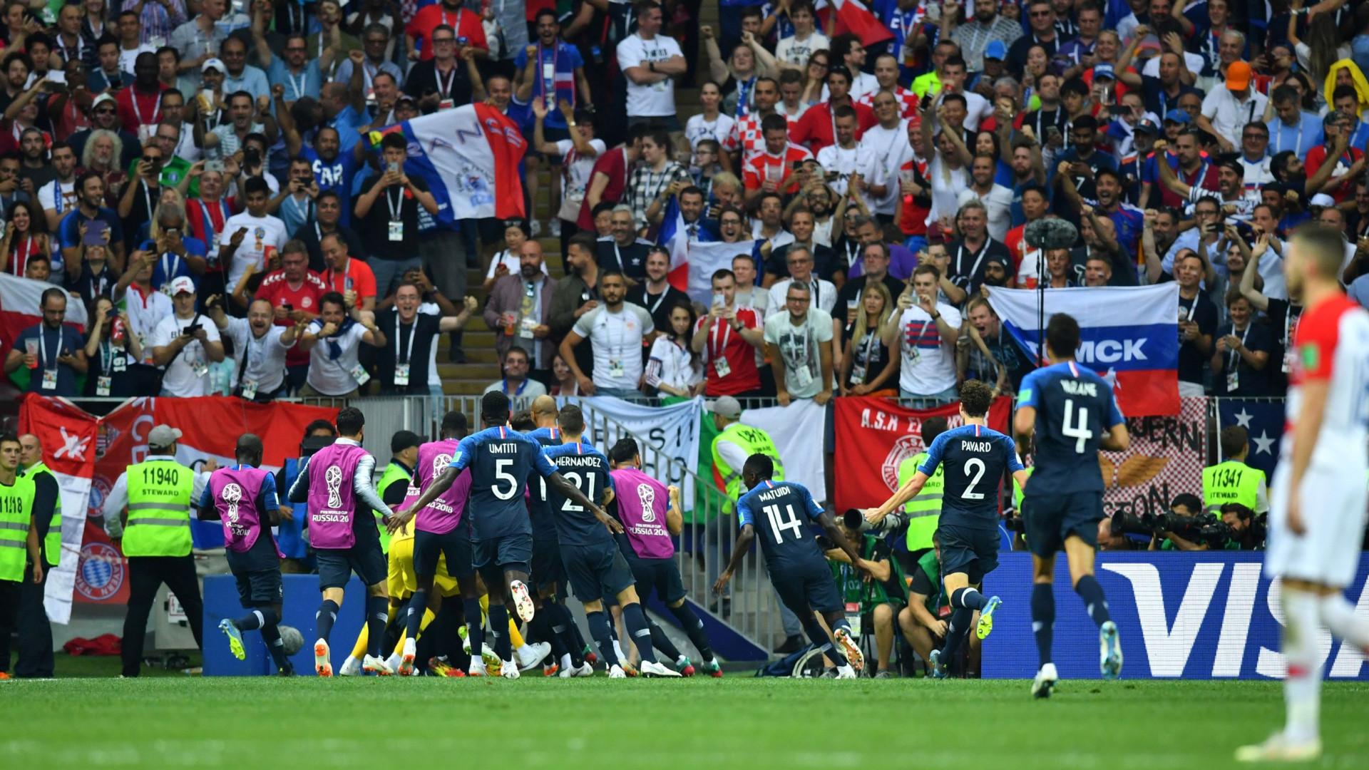 França vence a Croácia e regressa ao trono do futebol Mundial