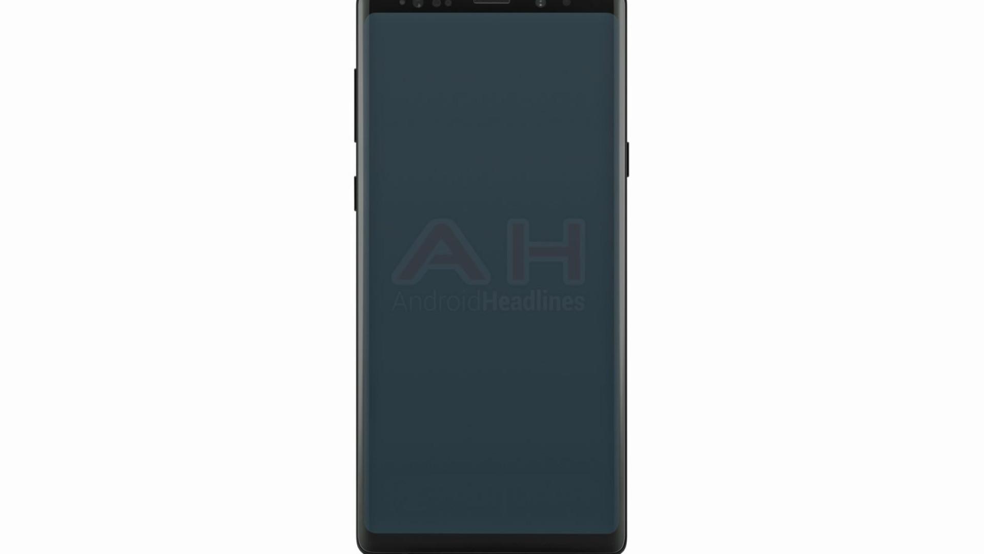 Galaxy Note 9. Esta pode ser a primeira imagem oficial